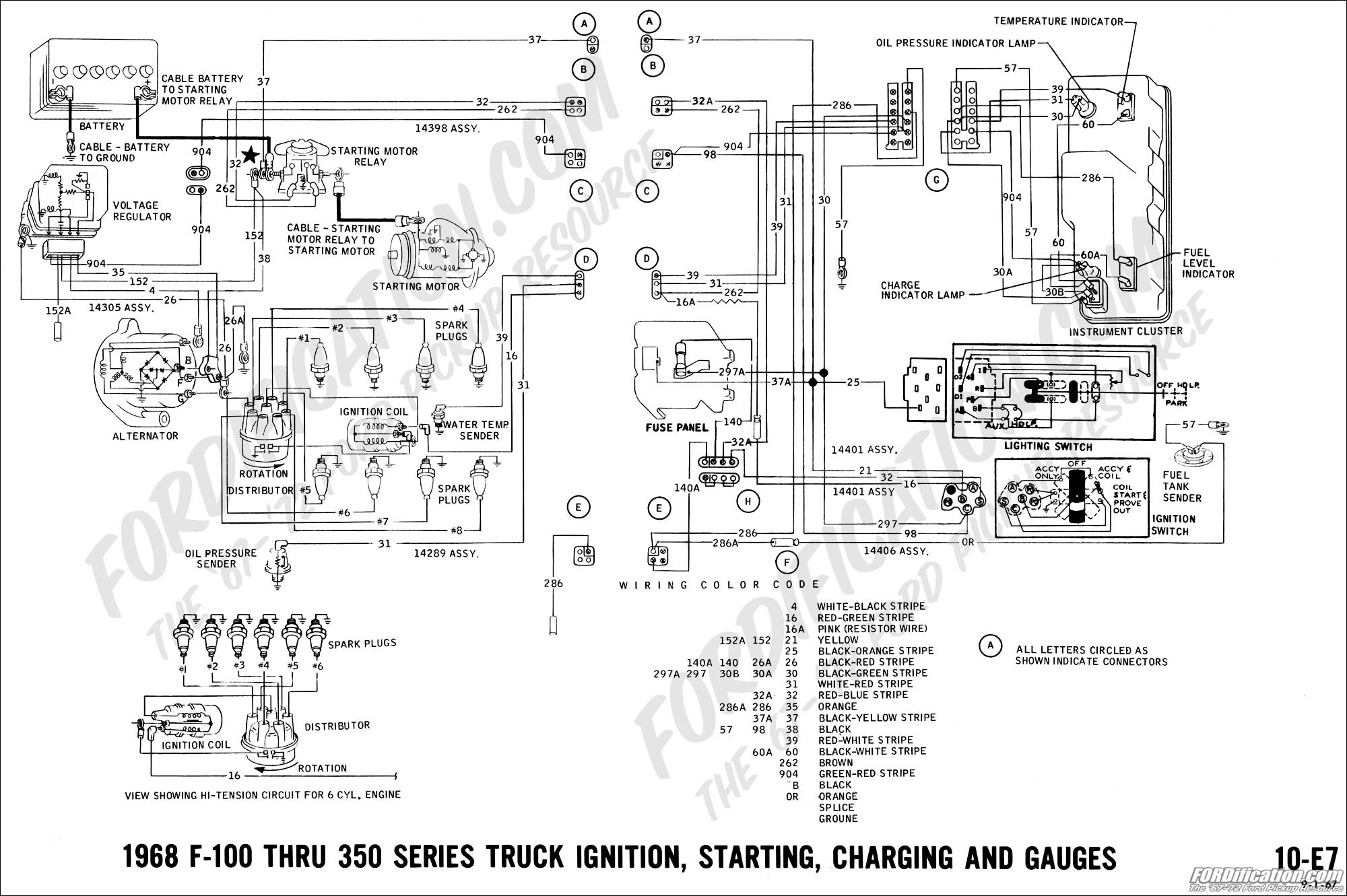 2001 ford 5 4 Engine Diagram ford Truck Technical Drawings and Schematics  Section H Wiring Of