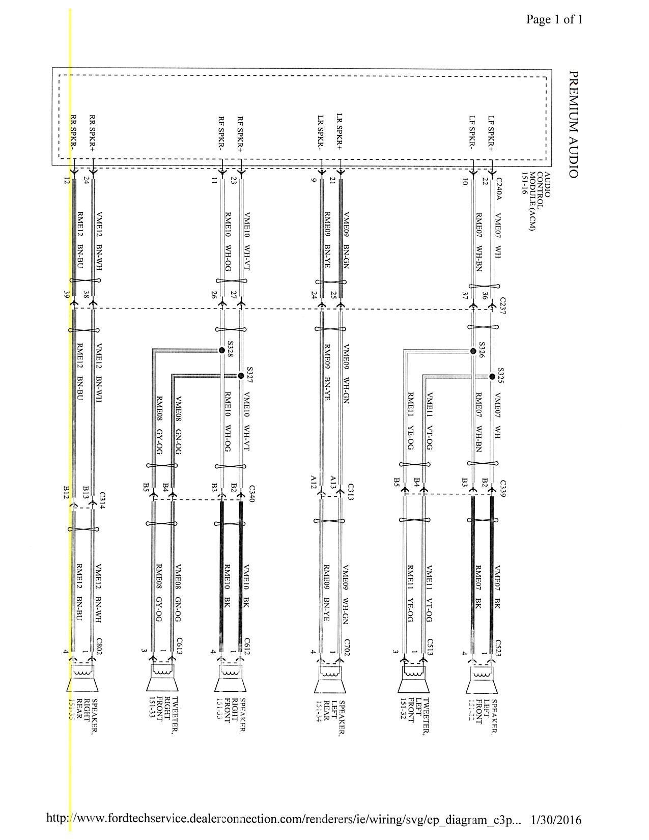 2001 Ford Focus Steering Column Wiring Diagram - Wiring Diagram •