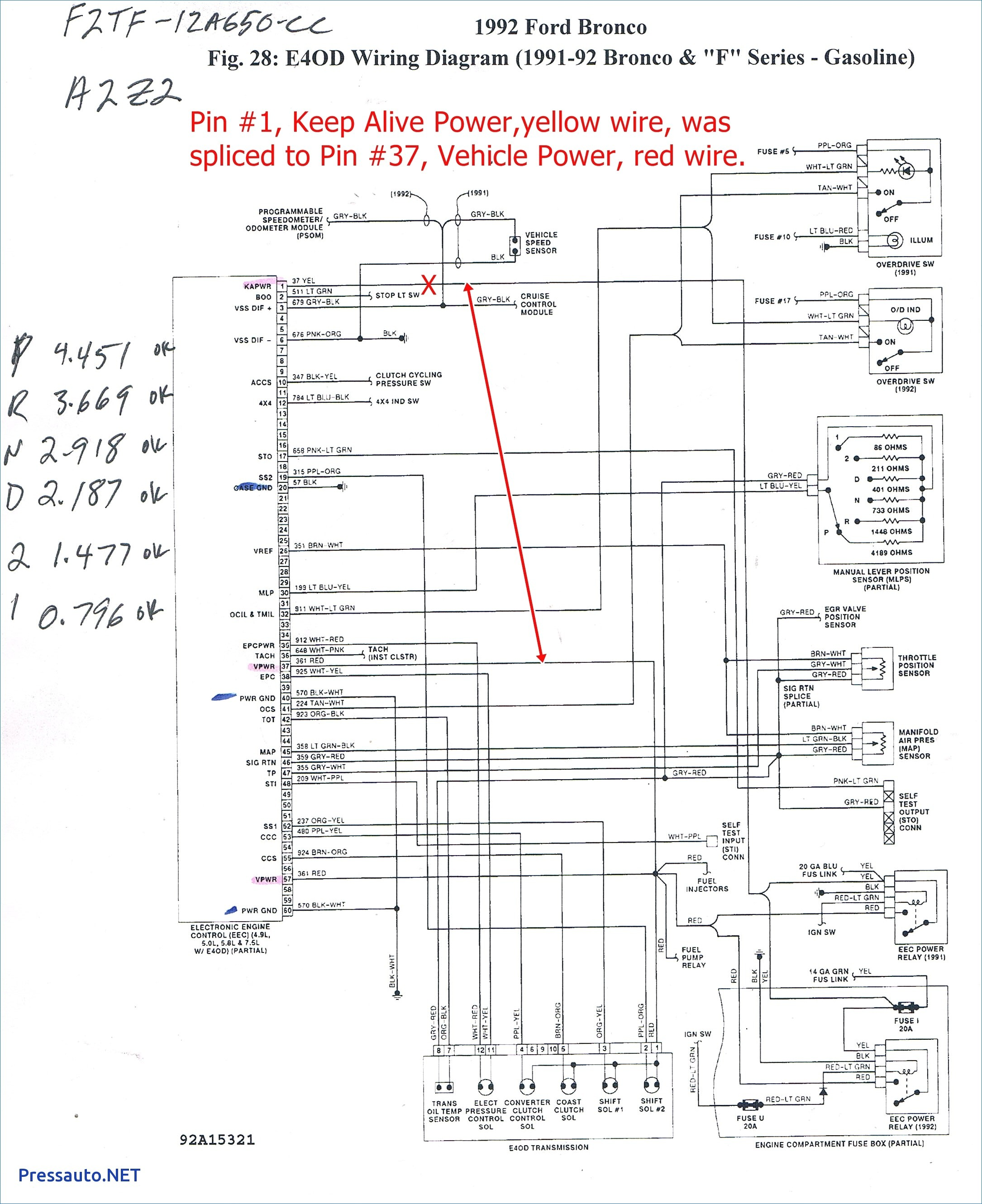 2001 Mercury Sable Wiring Diagram