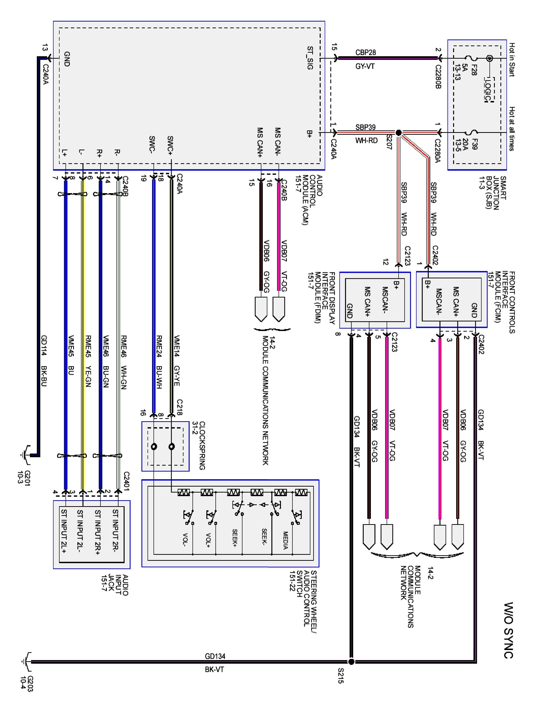 2001 Ford Taurus Radio Wiring Diagram Dual Harness Jensen Car Cables Chevy Kit Speaker Wire Stereo