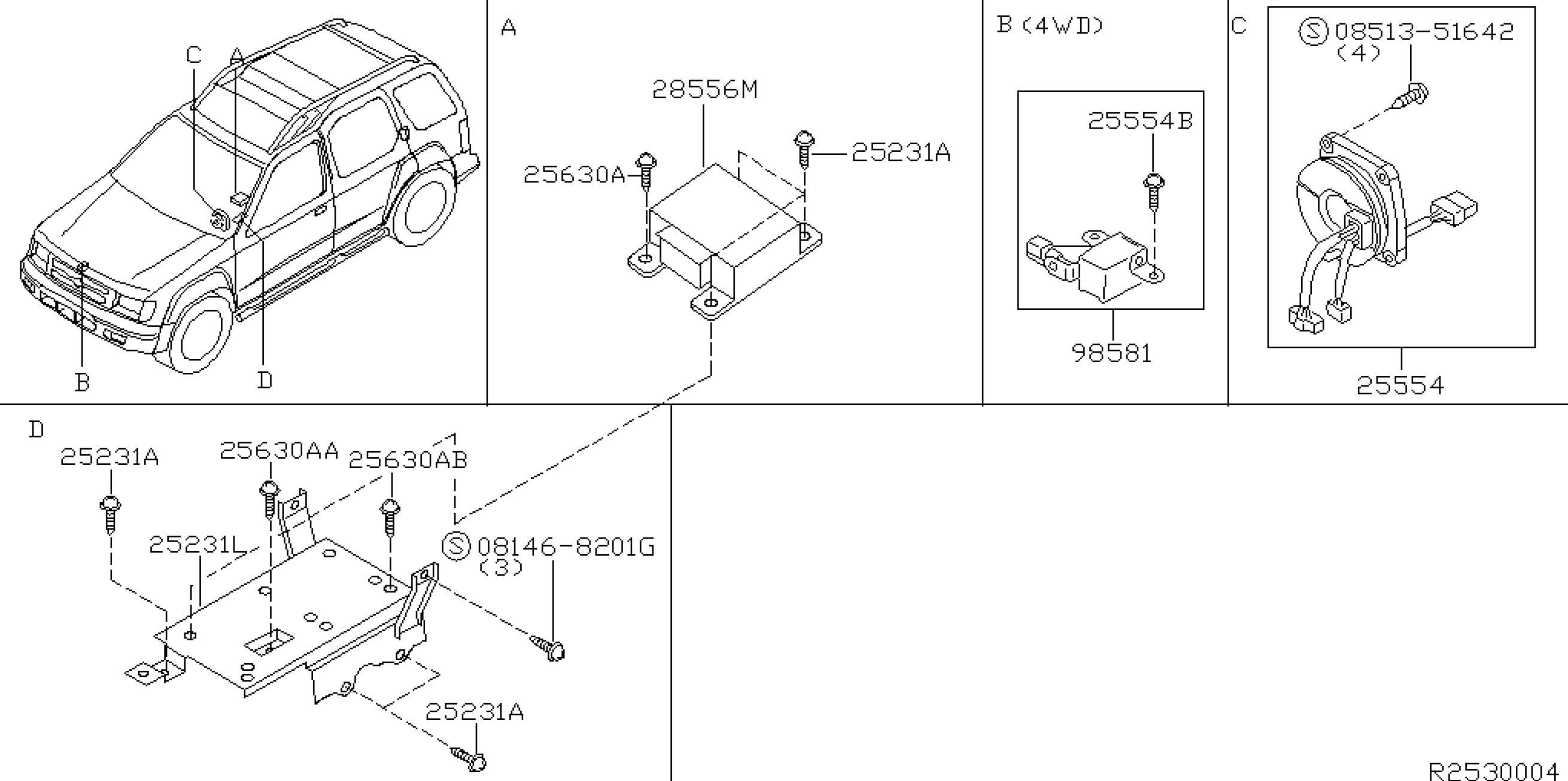 2001 Nissan Xterra Engine Diagram 2001 Nissan Xterra Oem Parts Nissan Usa Estore Of 2001 Nissan Xterra Engine Diagram