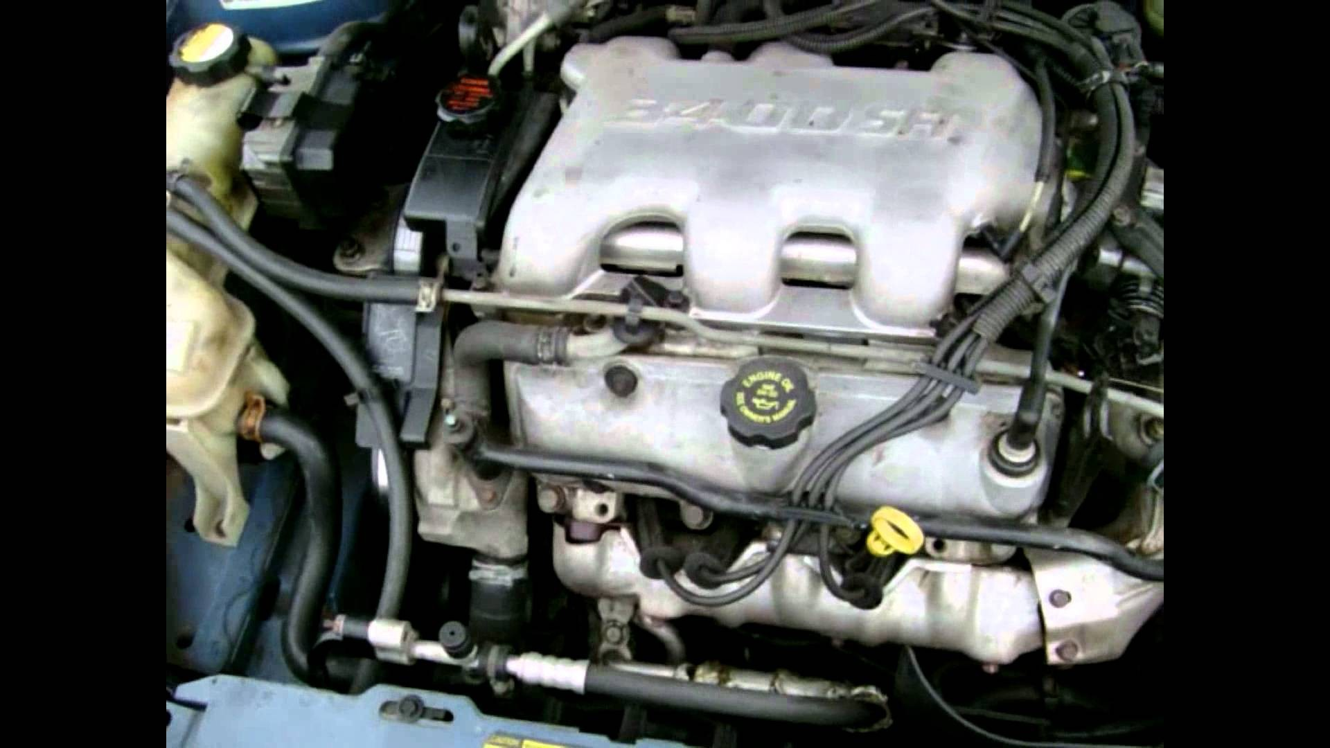 2001 Pontiac Aztek Engine Diagram Spark Plug Wires Remove Saturn Sl2 3400 Gm 3 4 Liter Motor Explanation And Discussion Of