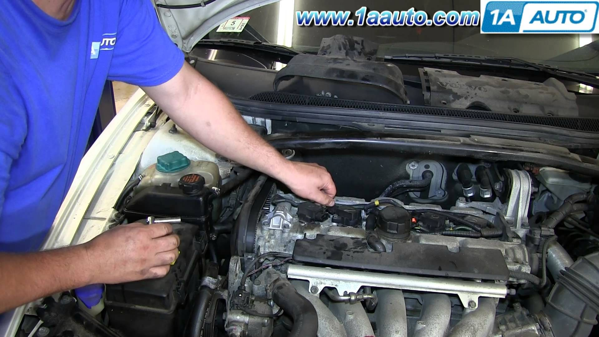 2001 Volvo S80 Engine Diagram Wiring 2000 S70 How To Install Replace Ignition Coil 1999 2007 V70