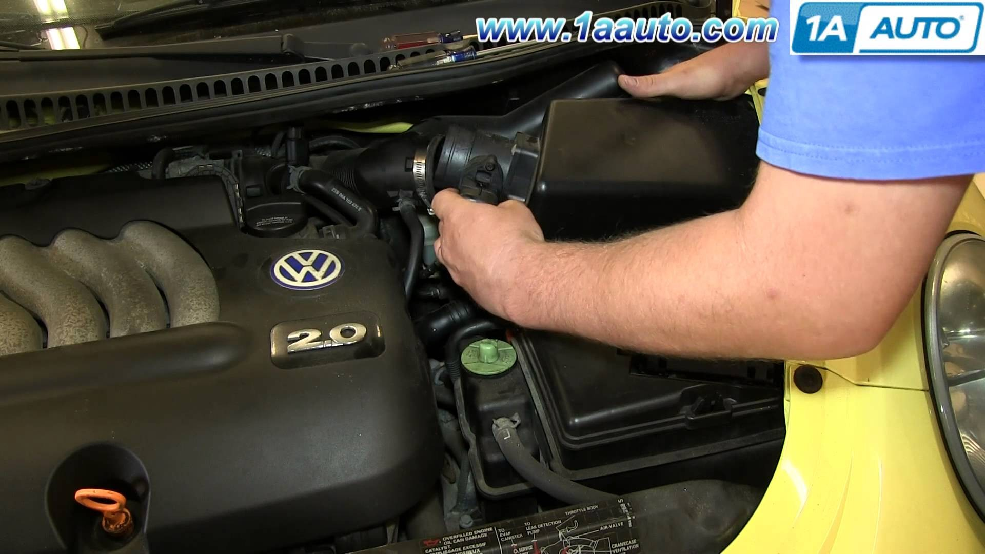 2001 Vw Beetle Turbo Engine Diagram How to Install Replace Engine Air Filter 1998 10 Vw Volkswagen Of 2001 Vw Beetle Turbo Engine Diagram