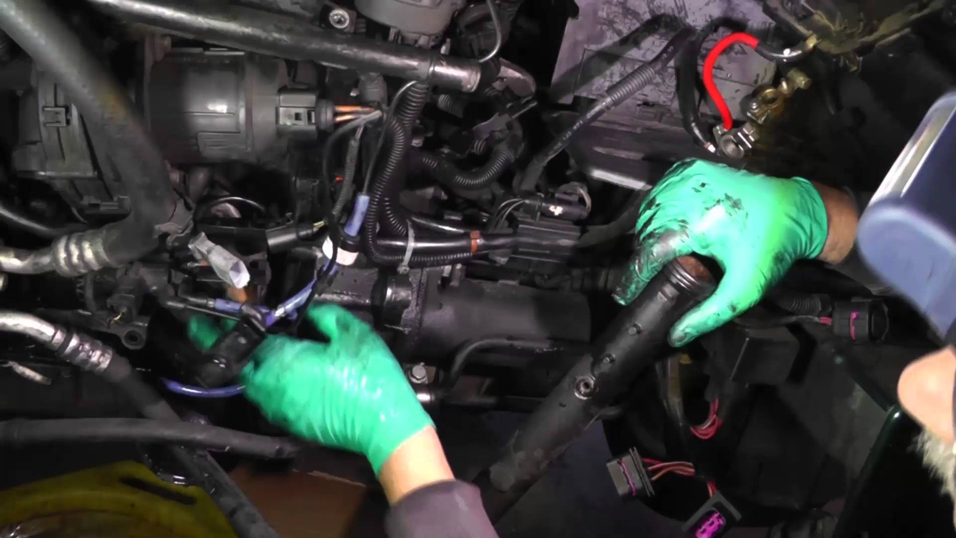 2001 Vw Jetta Vr6 Engine Diagram Timing Belt Volkswagen Removal Of Coolant Pipe Oil Filter Canister