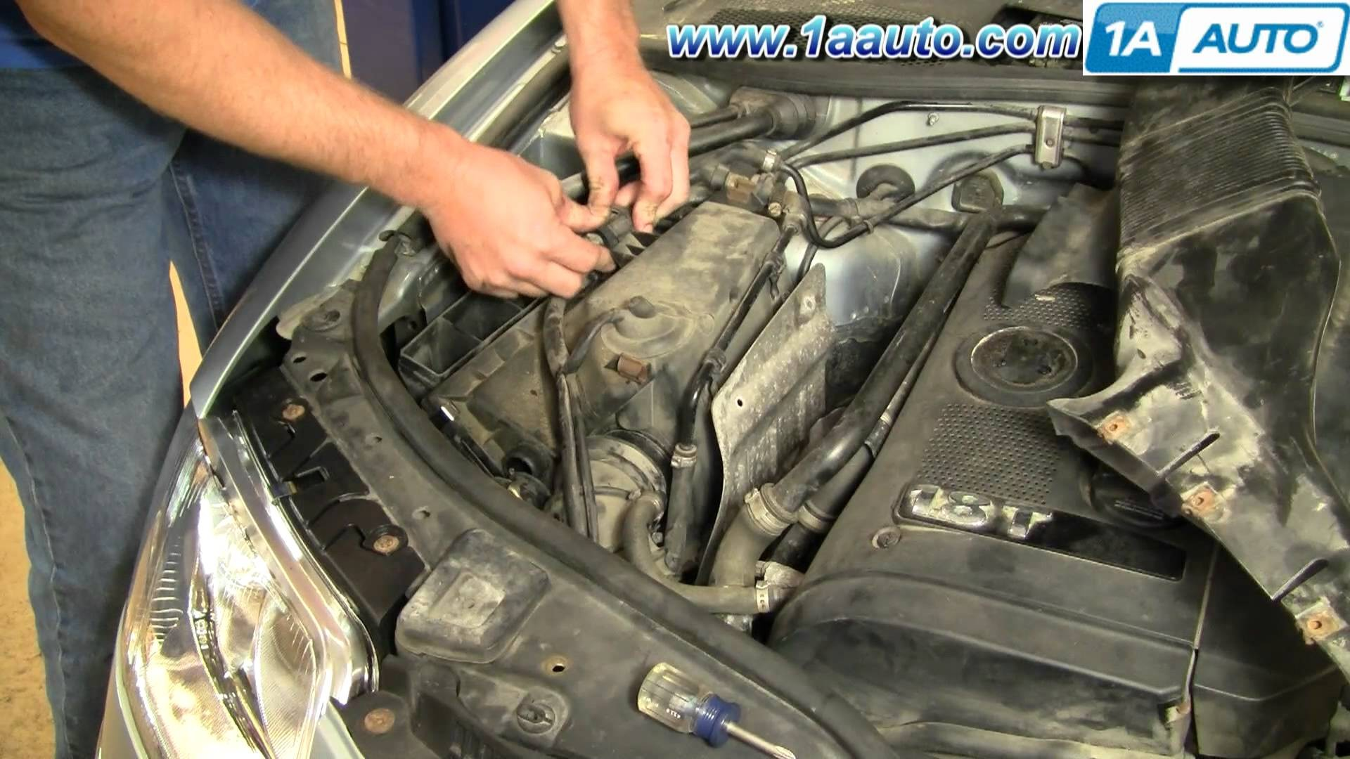 2001 Vw Passat Engine Diagram Wiring In Addition 57 Chevy How To Install Replace Air Filter Volkswagen 02 05