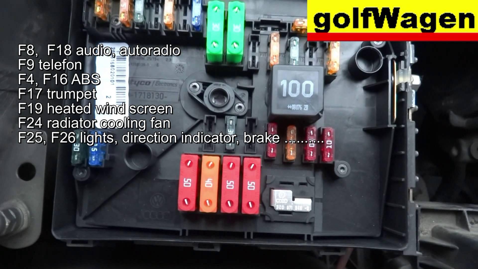 2001 Vw Passat Engine Diagram Vw Golf 5 Fuse Location and Fuse Diagram  Engine Fuse too