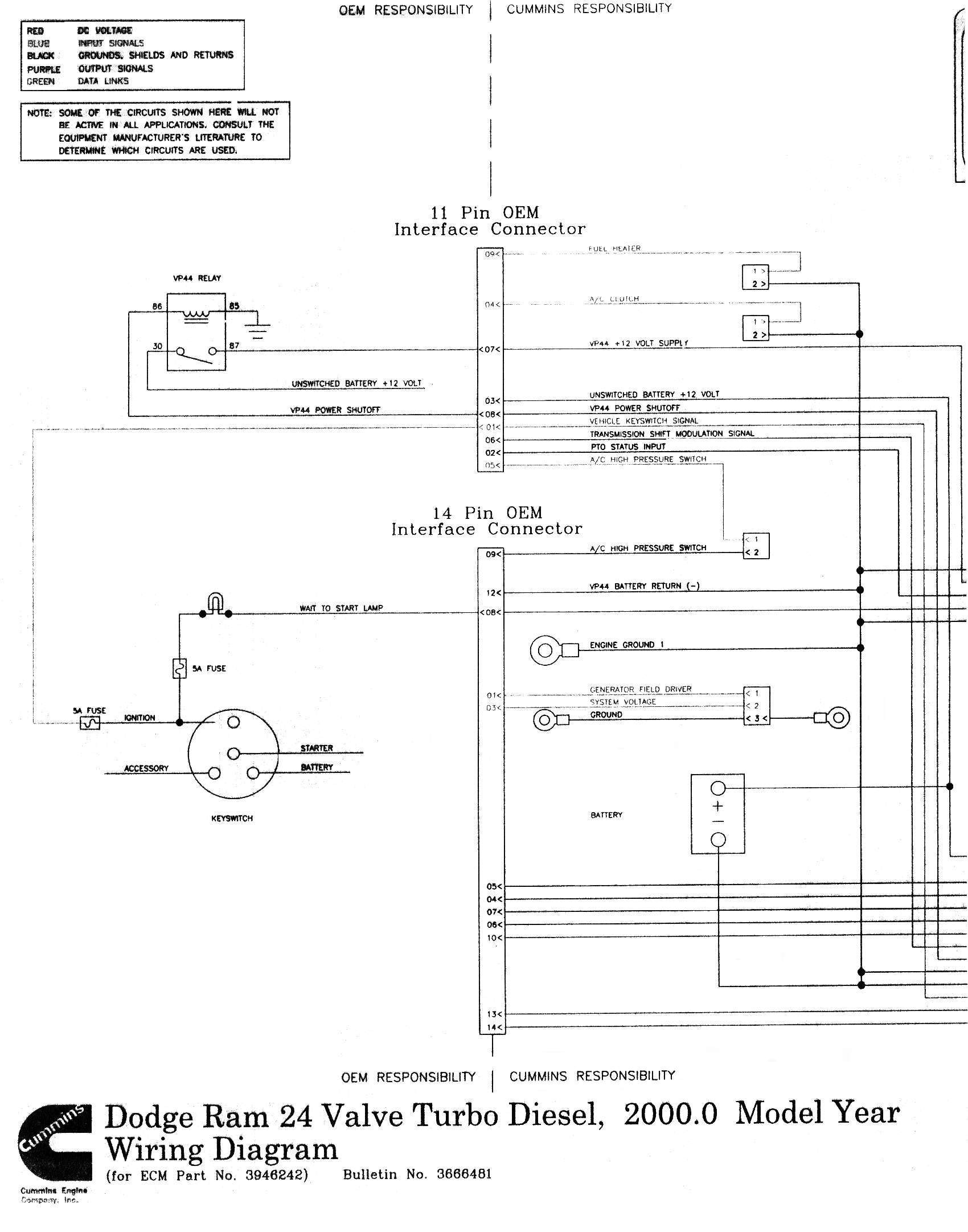 wiring diagram 1992 dodge d250 cummins digital resources Honda Civic Wiring Diagram