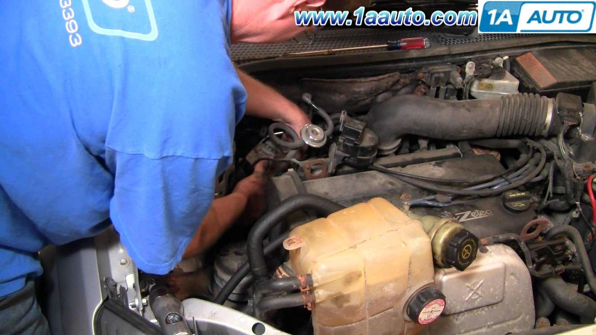 2002 2 0 Zetec Engine Diagram Wiring Library Ford Focus How To Install Replace Alternator Dohc 00