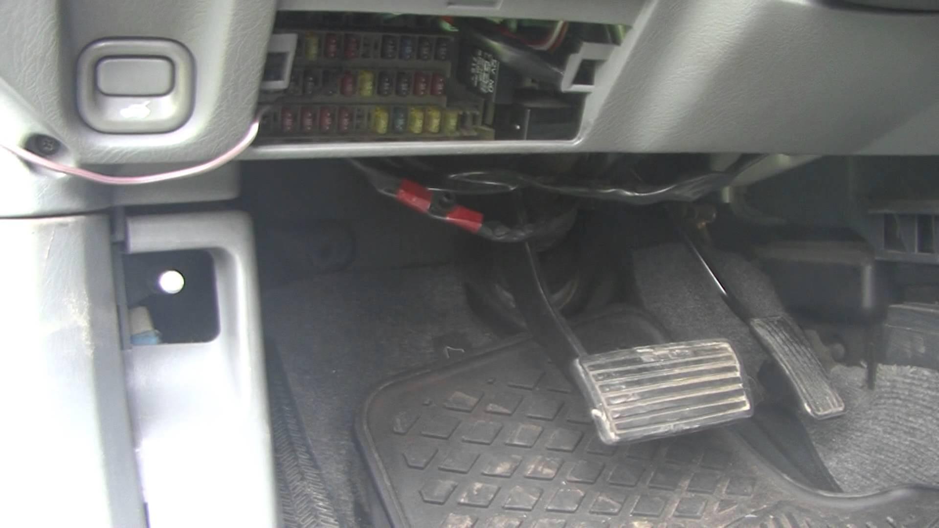 2002 Honda Crv Parts Diagram Honda How to Find Obd2 Plug Location On Cr V