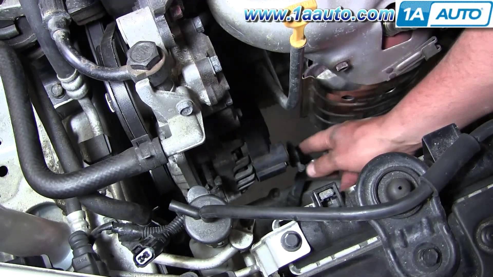 2002 Hyundai Elantra Engine Diagram How To Install Replace Alternator 2001 06 2 0l