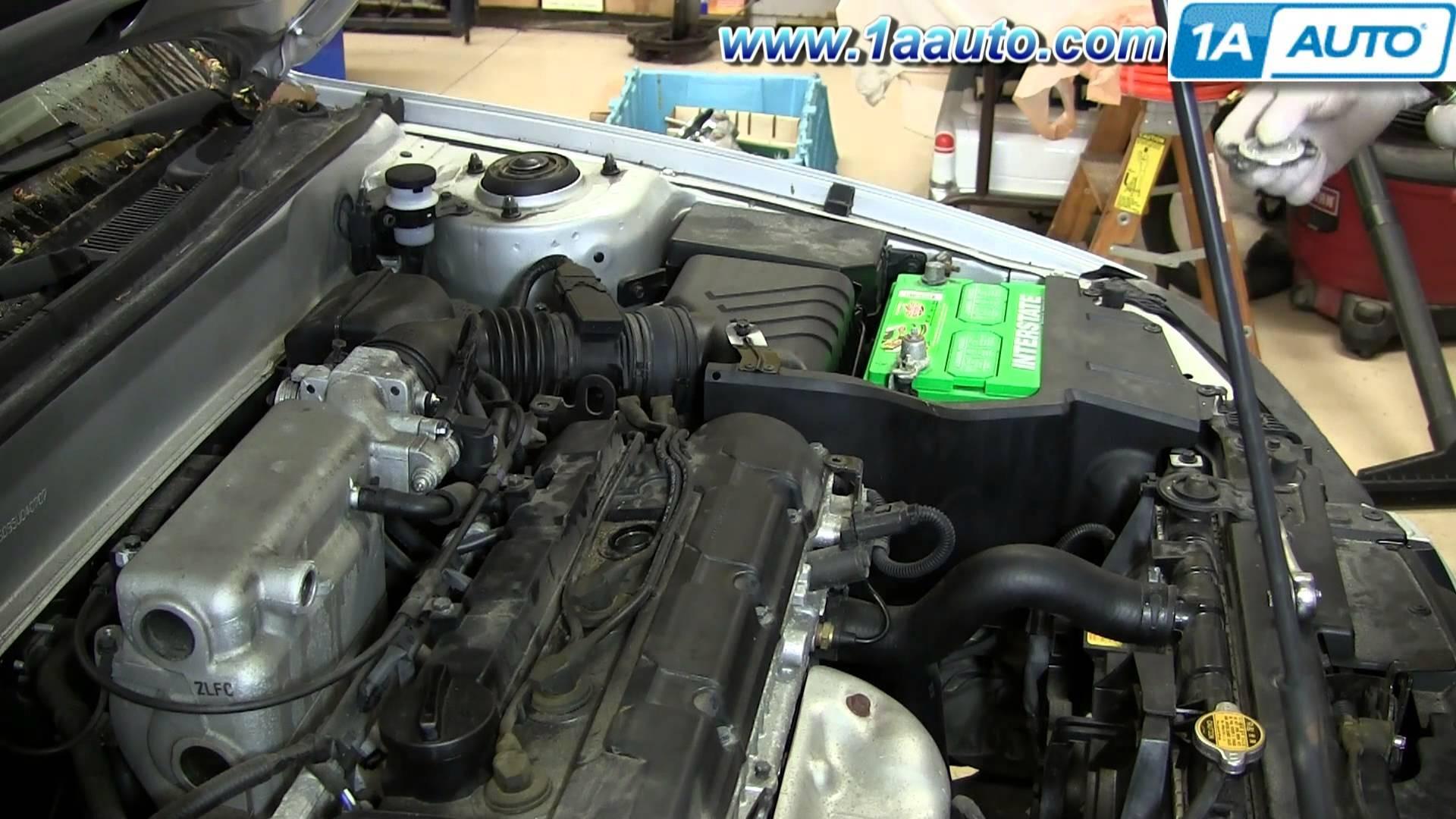 2002 Hyundai Elantra Engine Diagram How To Replace Change Install Spark Plugs 2001 06