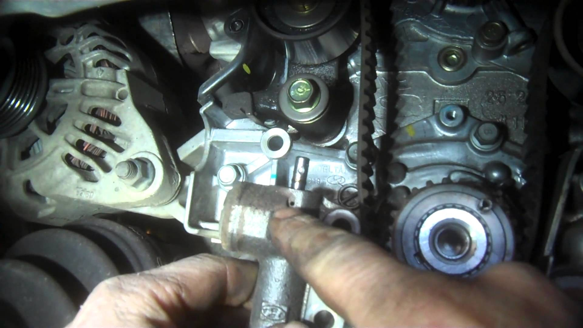 Hyundai Sonata Engine Diagram Timing Belt Replacement Hyundai Sonata L V Water Pump Of Hyundai Sonata Engine Diagram