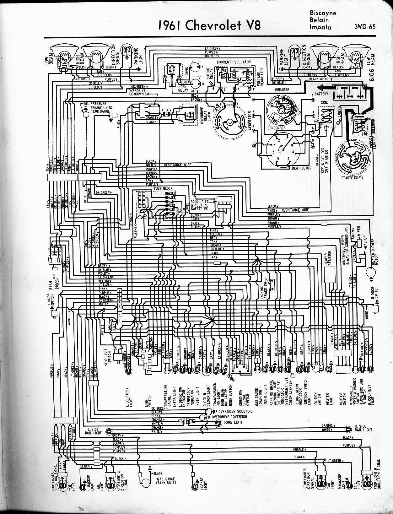 1965 chevy impala ss wiring diagram wiring diagram and Chevy Wiring Harness Diagram  1963 Chevy Impala