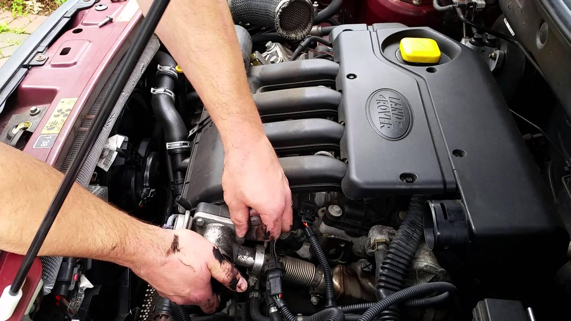 2002 Land Rover Freelander Engine Diagram Land Rover Td4 Bmw 2 0d Egr Valve  Delete Blanking Kit Install