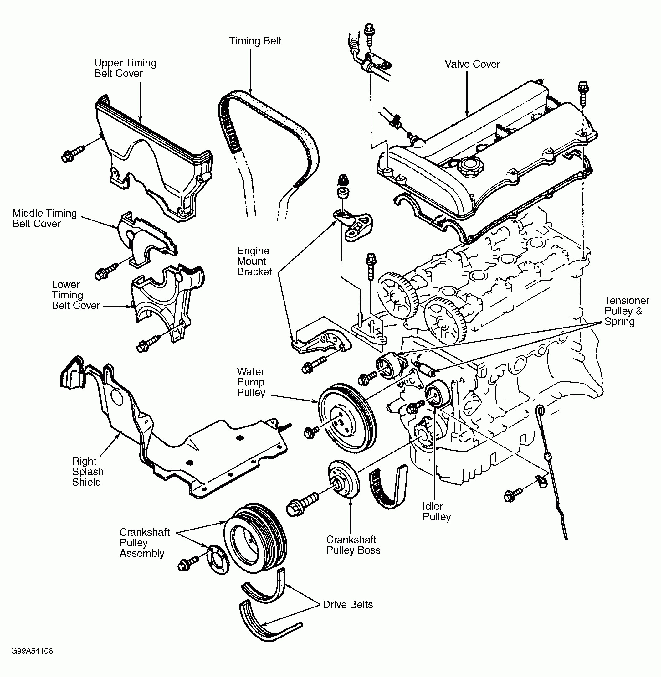 2002 Mazda Protege Engine Diagram Wiring Diagrams Schematics B4000 Fuse 1999 Simple Rh David Huggett Co Uk Belt Ac