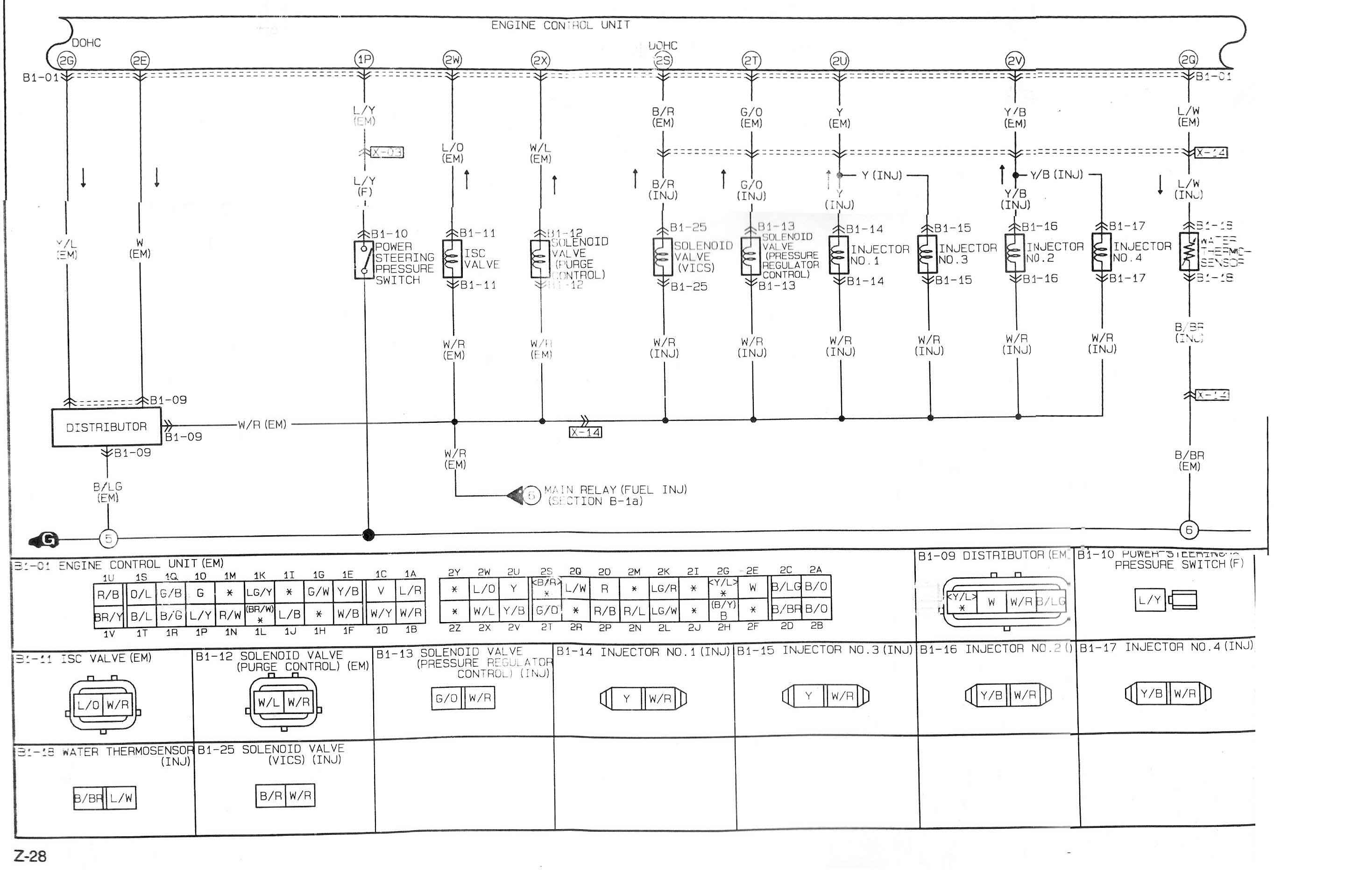 2002 Mazda Protege Engine Diagram Wiring For 5 323 1993 Diagrams Of