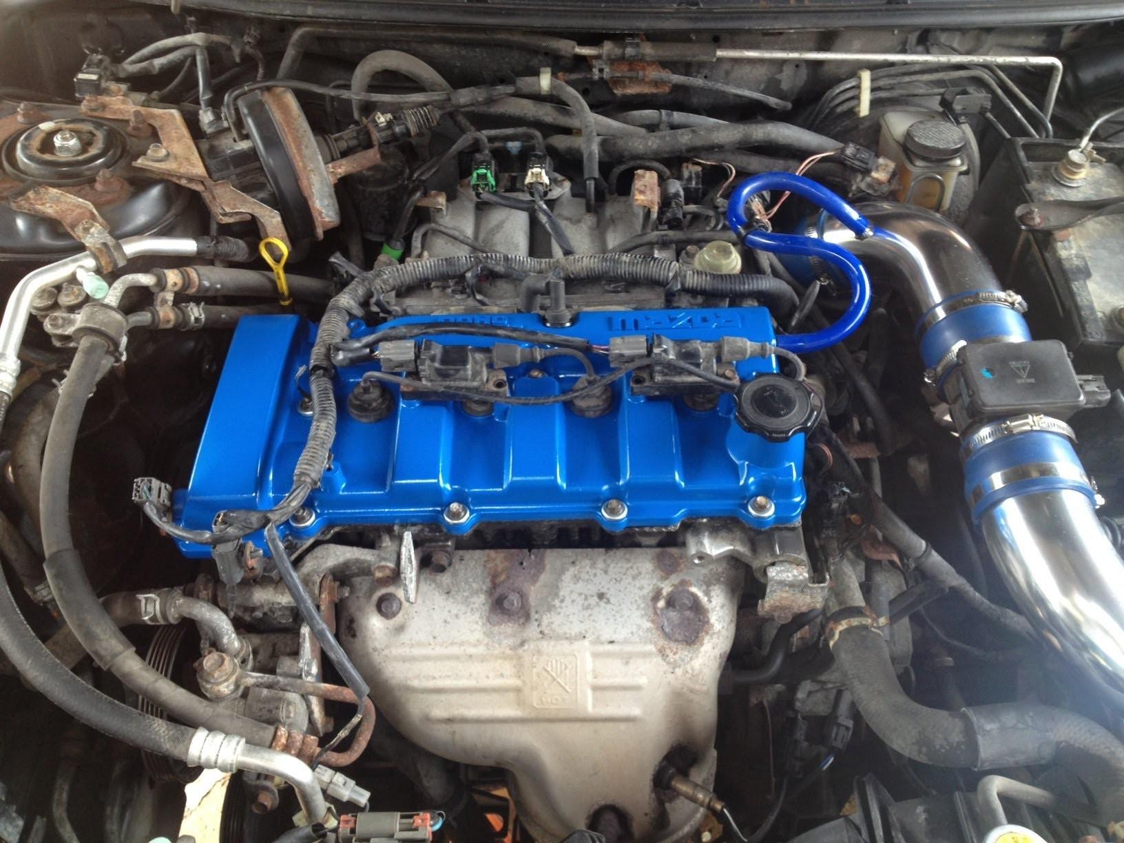 2002 Mazda Protege Engine Diagram Mazda Protege Timing Belt Water Pump How  to Of 2002 Mazda