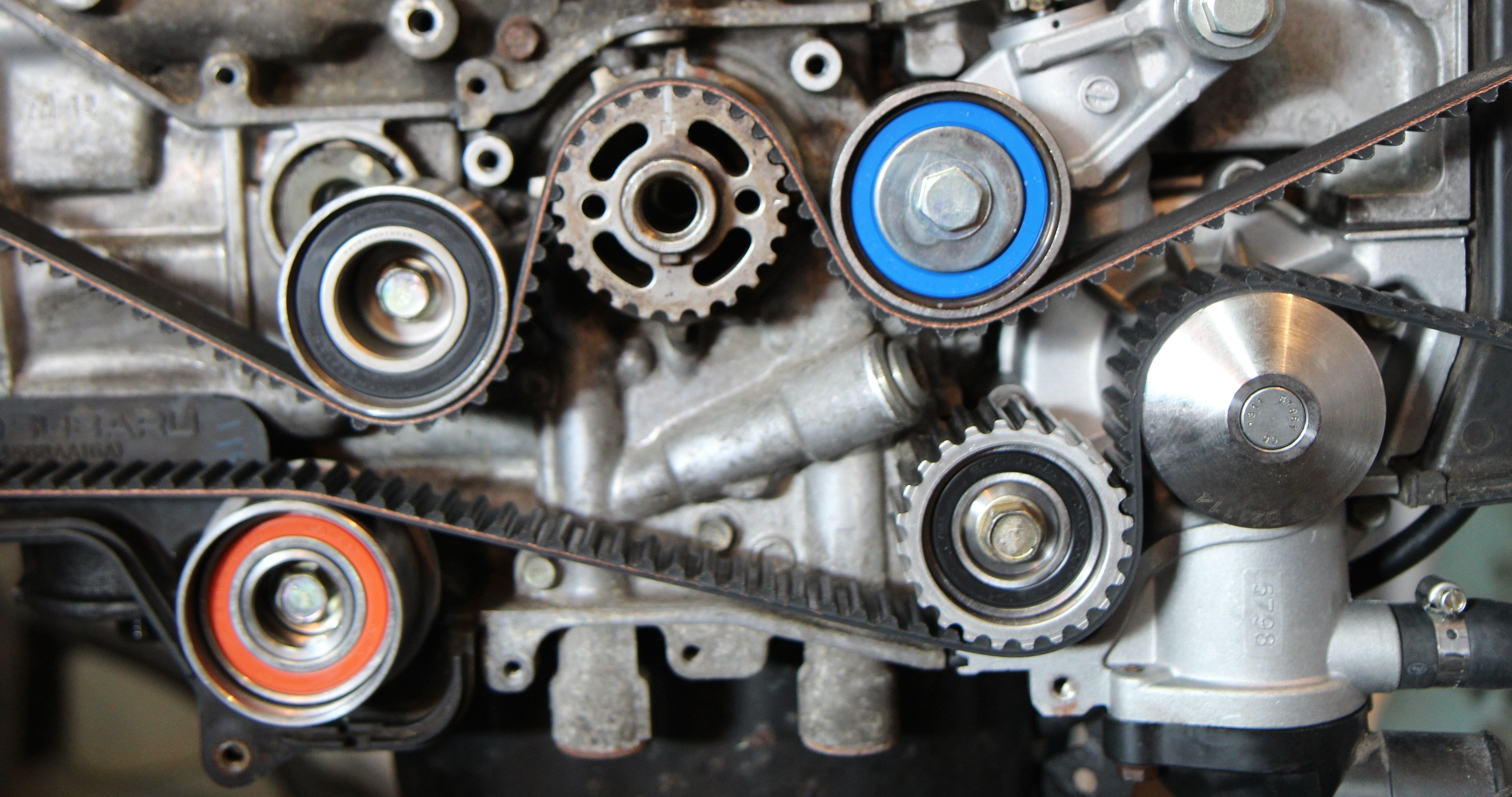 2002 Subaru Outback Parts Diagram How to Set Timing Timing Belt Change On A Subaru sohc Ej25 Of 2002 Subaru Outback Parts Diagram