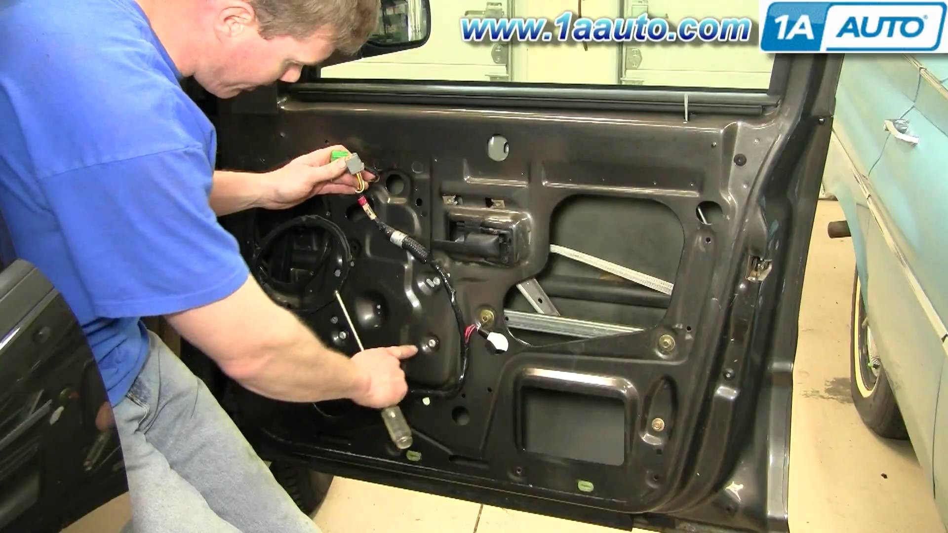 2003 Ford Explorer Sport Trac Engine Diagram My Wiring 2007 How To Install Replace Window Regulator