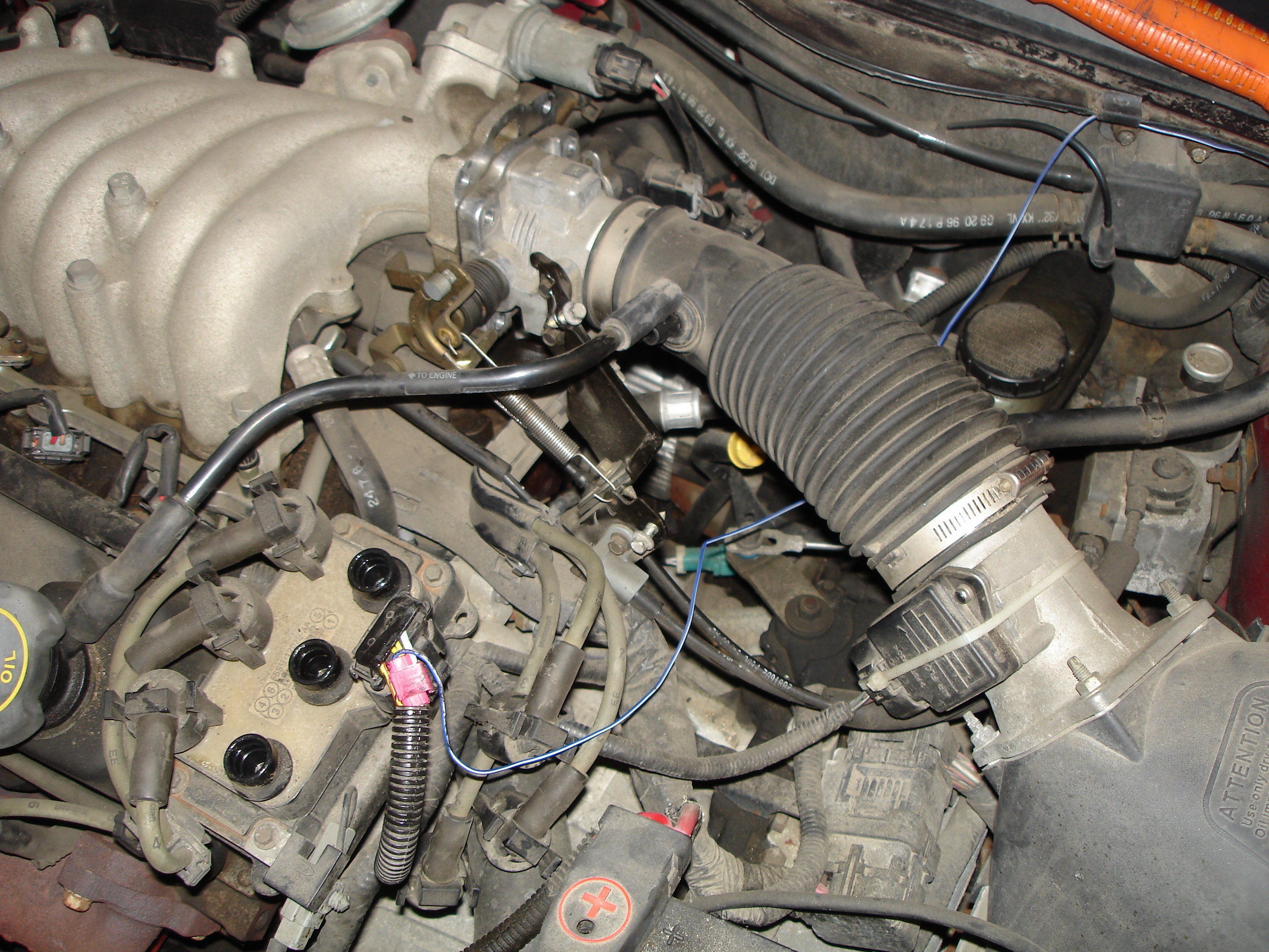 2000 Ford Windstar Engine Hose Diagram Wiring Library Taurus Fuel Line 2003 Replace A Camshaft Position Sensor 1997