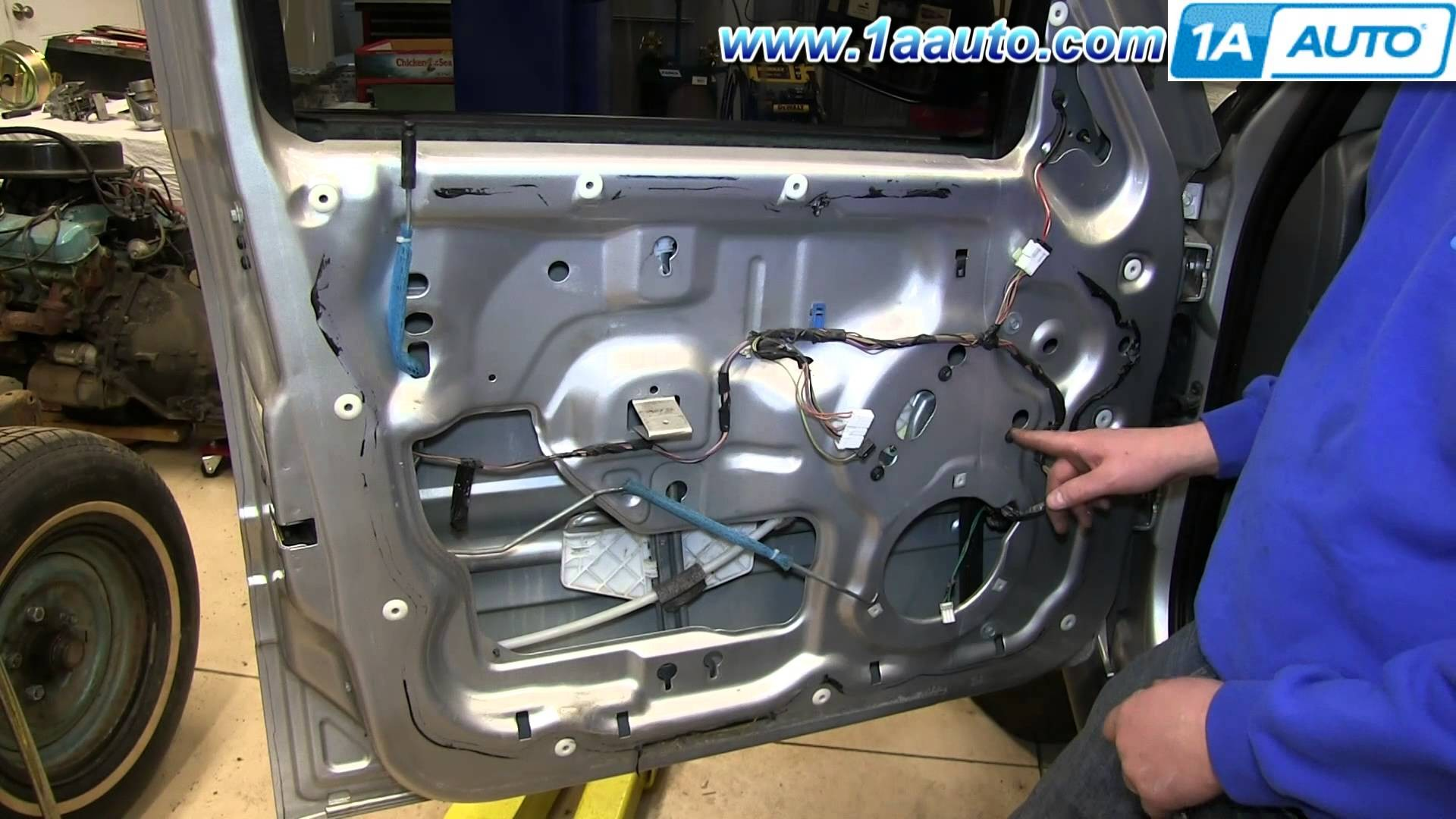 2003 Jeep Liberty Engine Diagram Car 3 7l How To Install Replace Front Power Window Regulator 2002 07