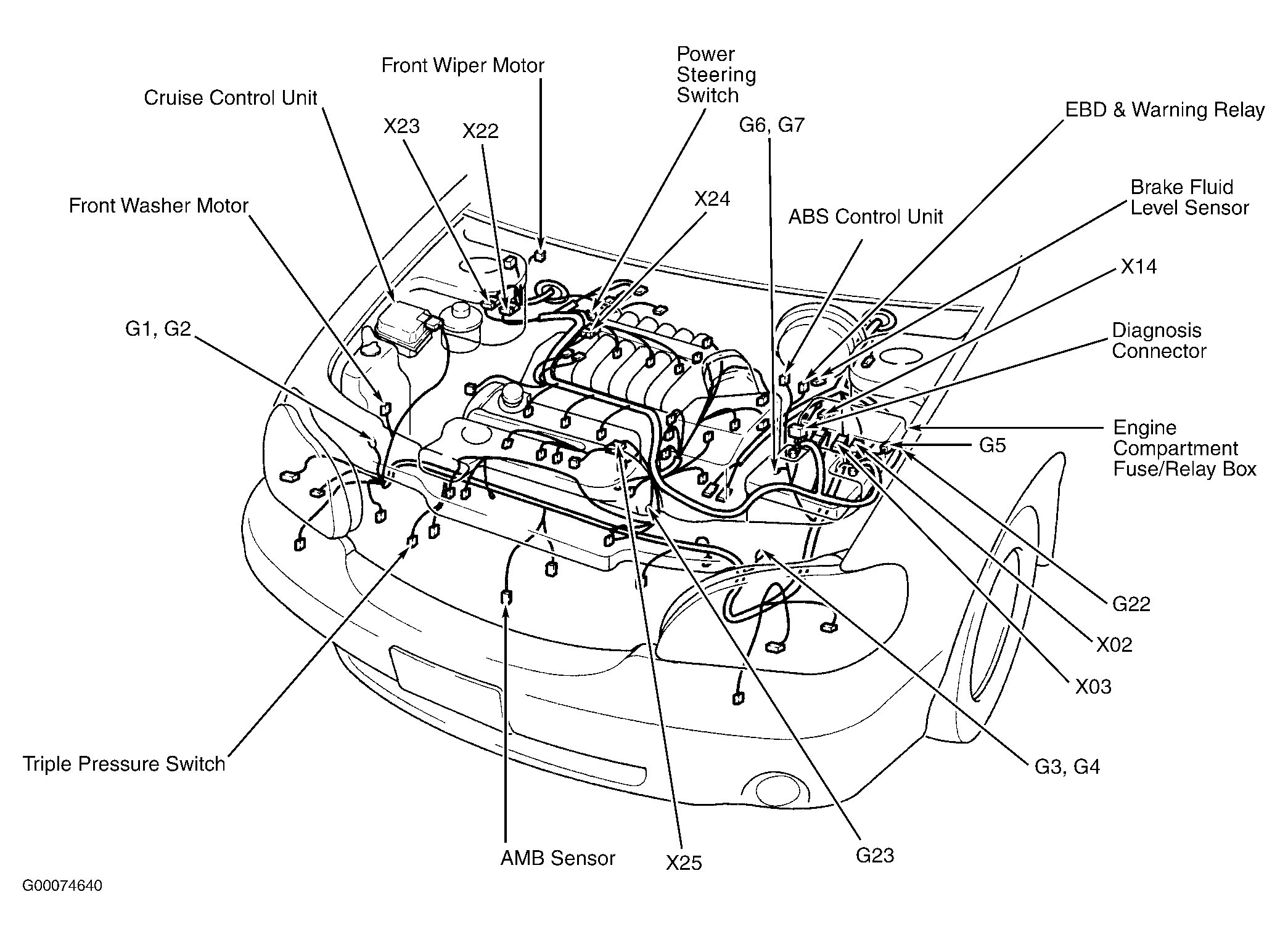kia rio sedona sorento engine diagram