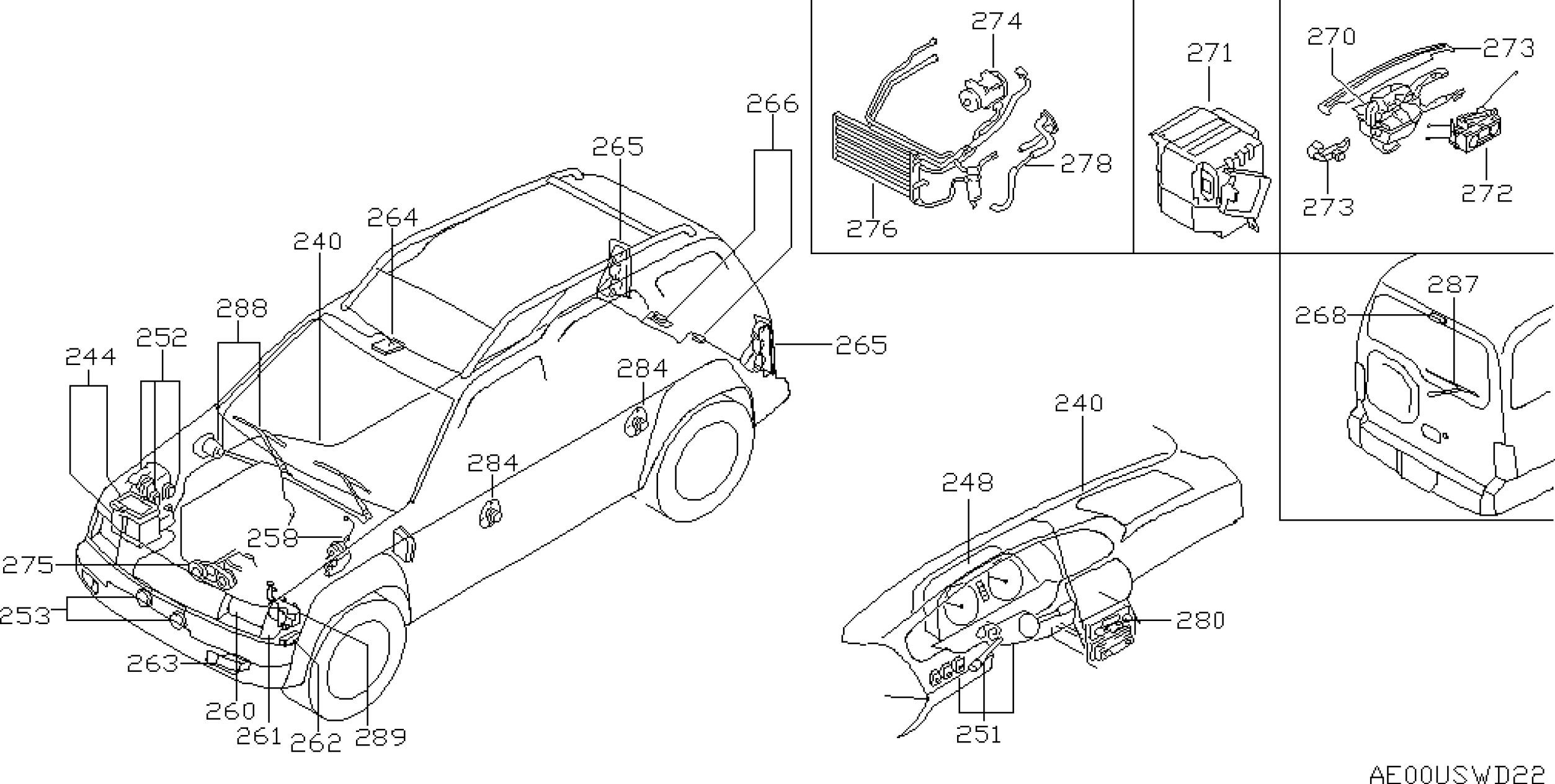 Nissan Xterra Parts Diagram