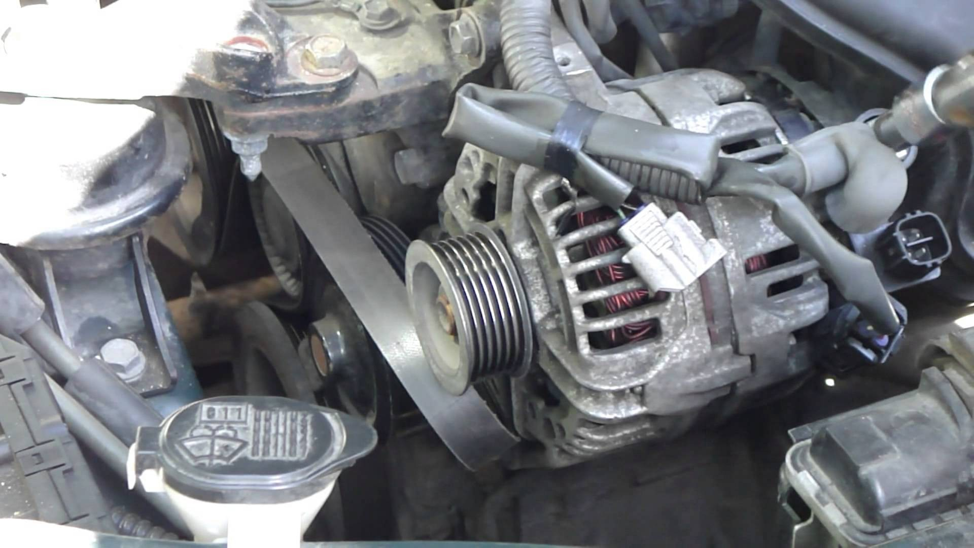2003 toyota Matrix Parts Diagram How to Change Alternator toyota Corolla Vvt I Engine Years 2000 Of 2003 toyota Matrix Parts Diagram