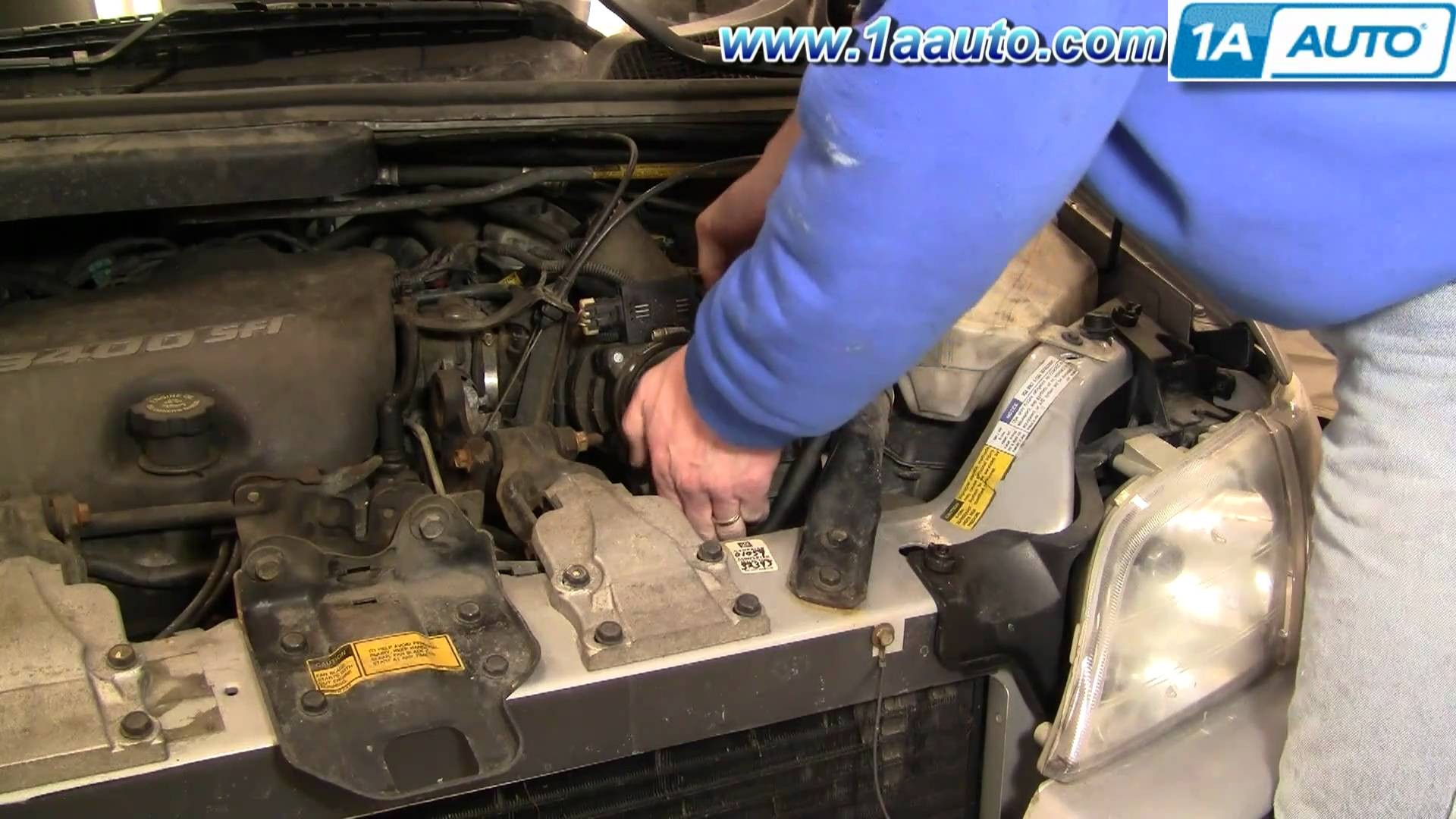 2004 Chevy Venture Engine Diagram How to Install Replace Air Filter Chevy Venture Pontiac Montana 97