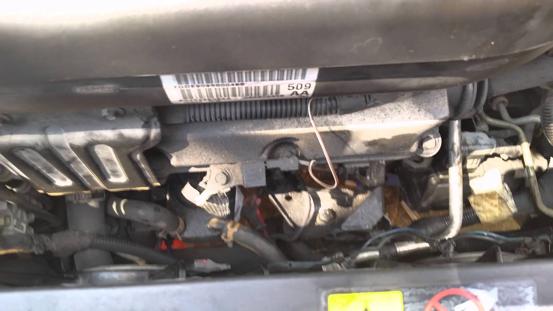 2004 Chrysler Pacifica Engine Diagram Replacing A Starter On A 2005 Chrysler  Pacifica Of 2004 Chrysler