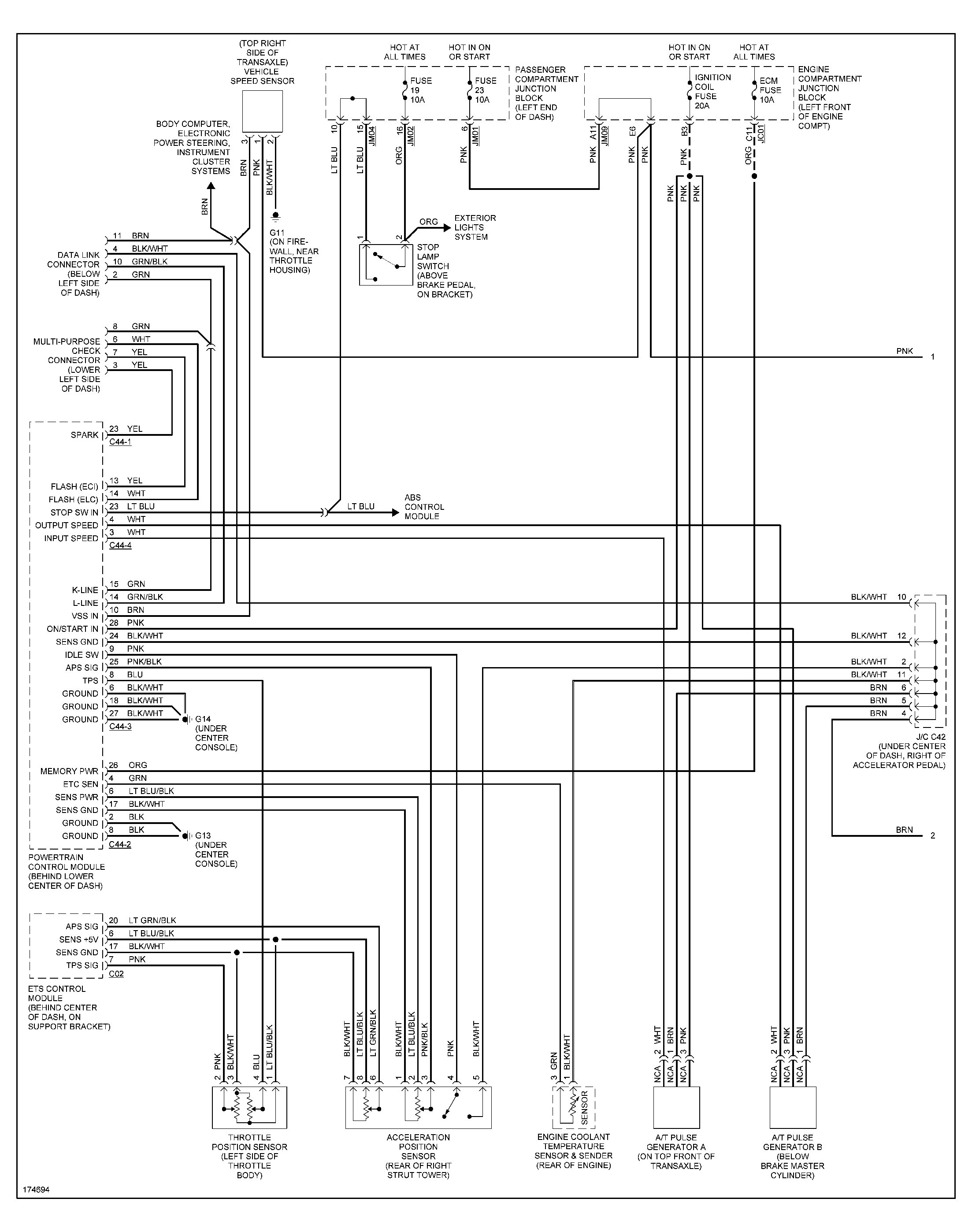 03 Hyundai Santa Fe Engine Diagram | Wiring Library