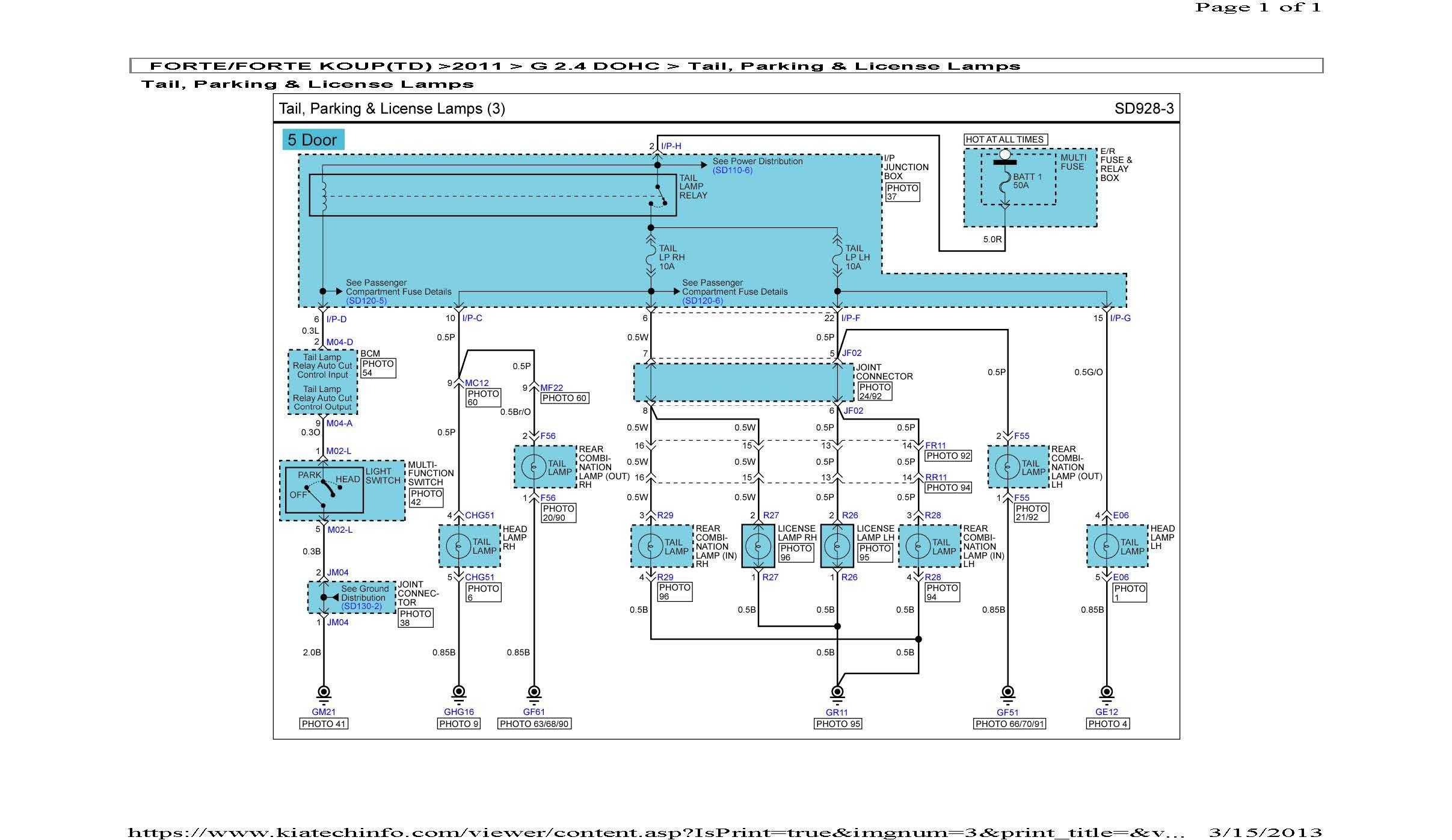 2004 Kia Sorento Engine Diagram