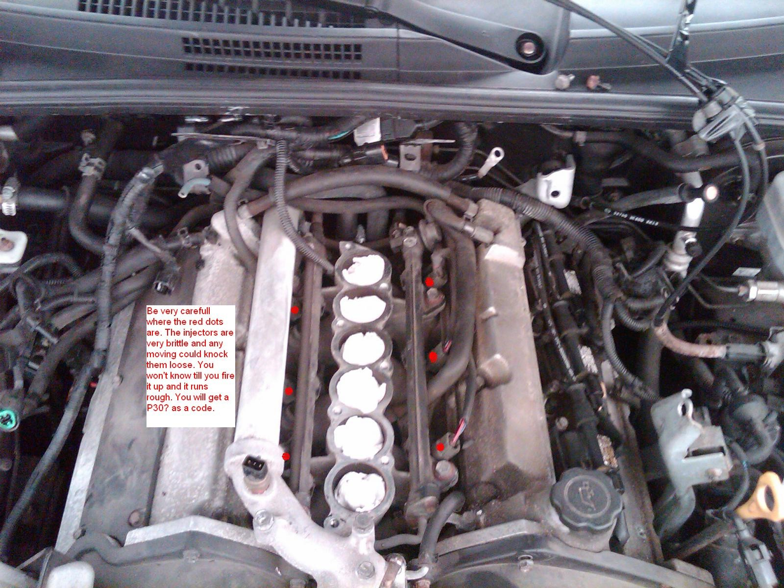 2004 Kia Sorento Engine Diagram Sportage Wiring With Rio Schematic Fuel Injector And Or Spark Plugs Diy Help Forum Of