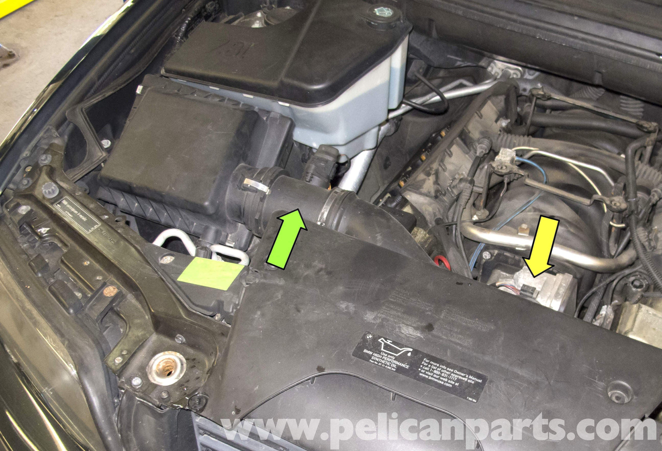 2005 Bmw X5 Engine Diagram Bmw X5 Engine Cooling Fan Replacement E53 2000  2006 Of 2005