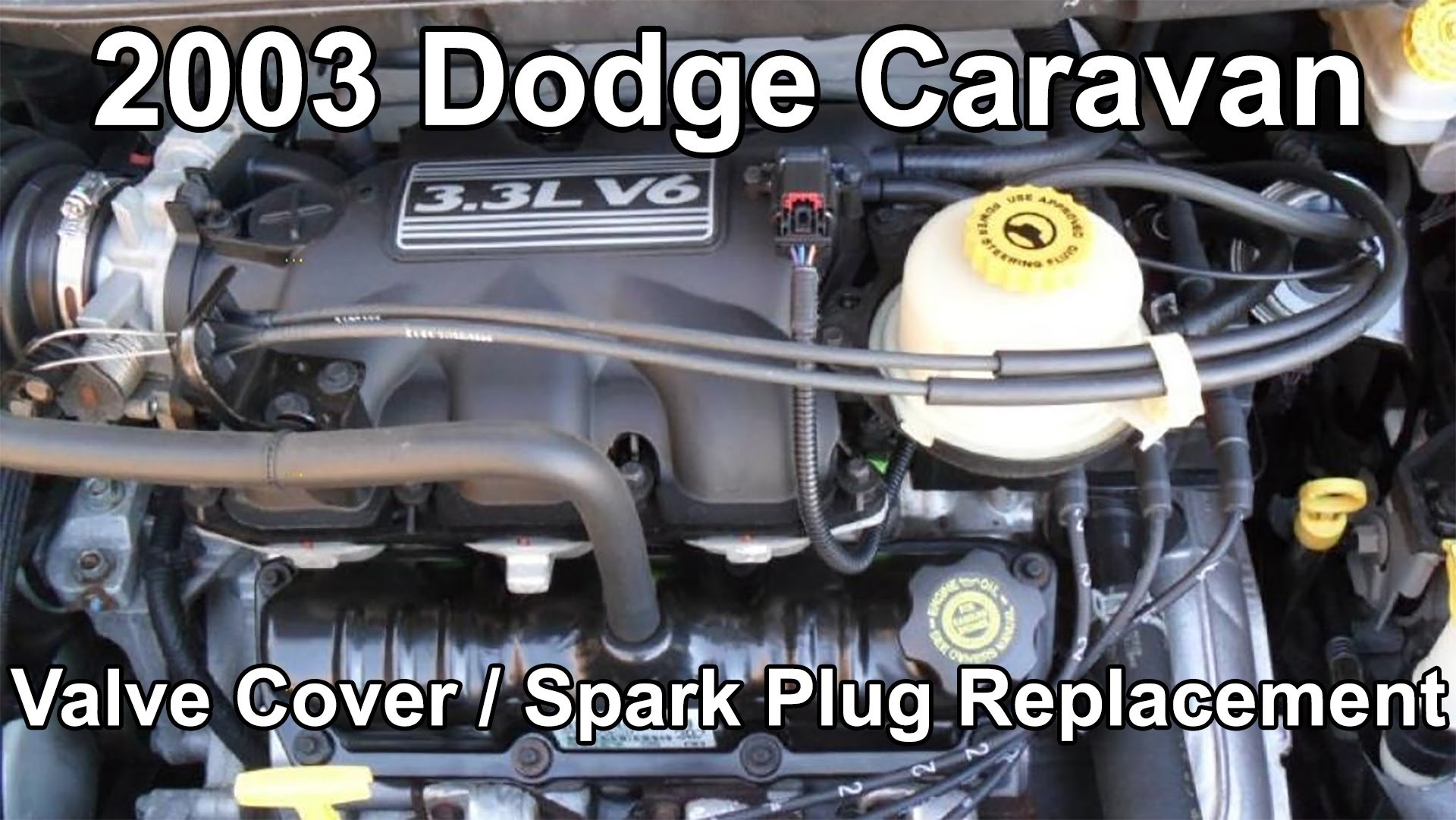 2005 Chrysler town and Country Engine Diagram 2003 Dodge Caravan 3 3 Plugs and Valve Cover Gasket Change Of 2005 Chrysler town and Country Engine Diagram