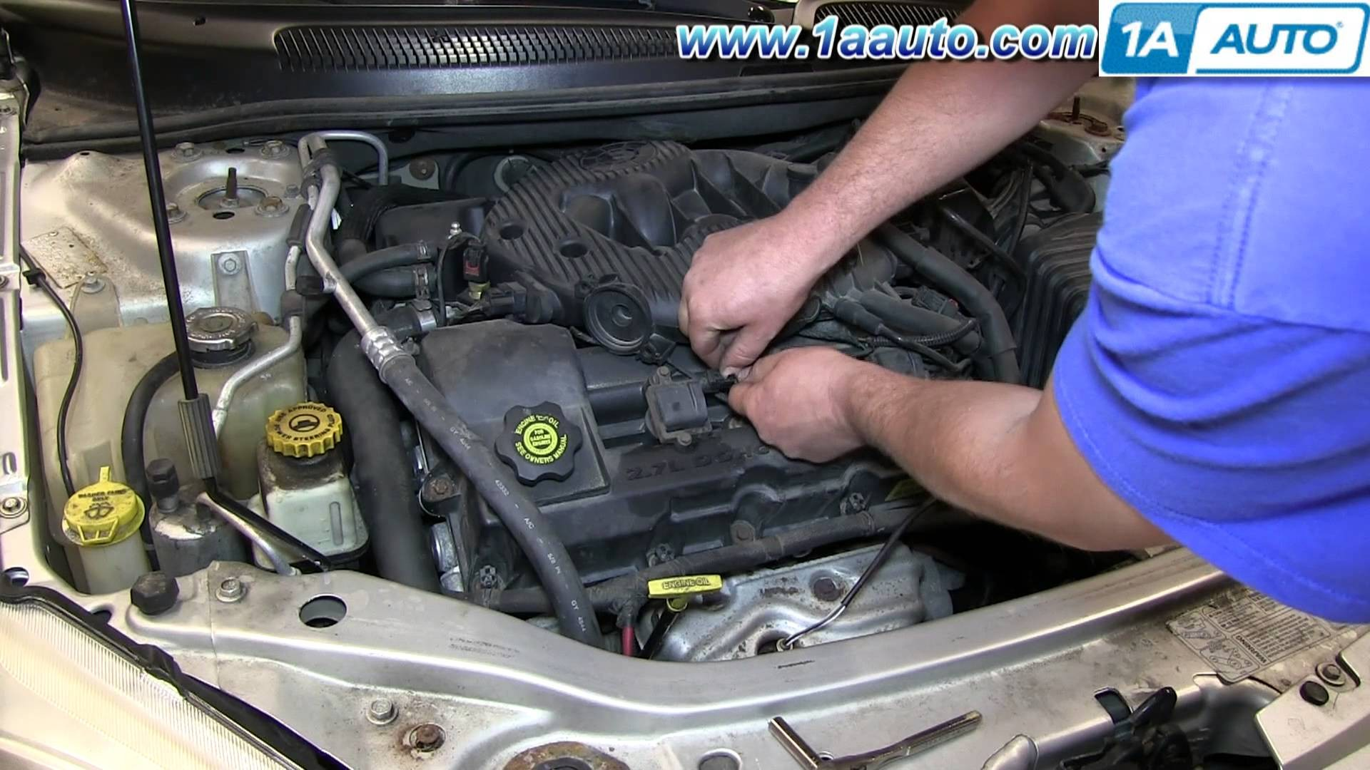 2005 Chrysler town and Country Engine Diagram How to Install Change Replace Spark Plugs 2001 06 Chrysler Sebring Of 2005 Chrysler town and Country Engine Diagram