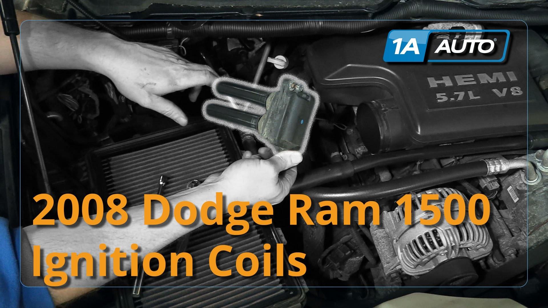 2005 Dodge Durango Engine Diagram How to Install Replace Ignition Coils Dodge  Ram 1500 Hemi 5 7l Buy