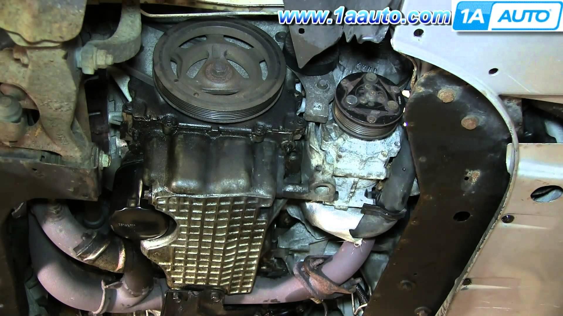 2005 Dodge Stratus Engine Diagram How to Install Replace Engine Ac Alternator Serpentine Belt 2 7l Of 2005 Dodge Stratus Engine Diagram