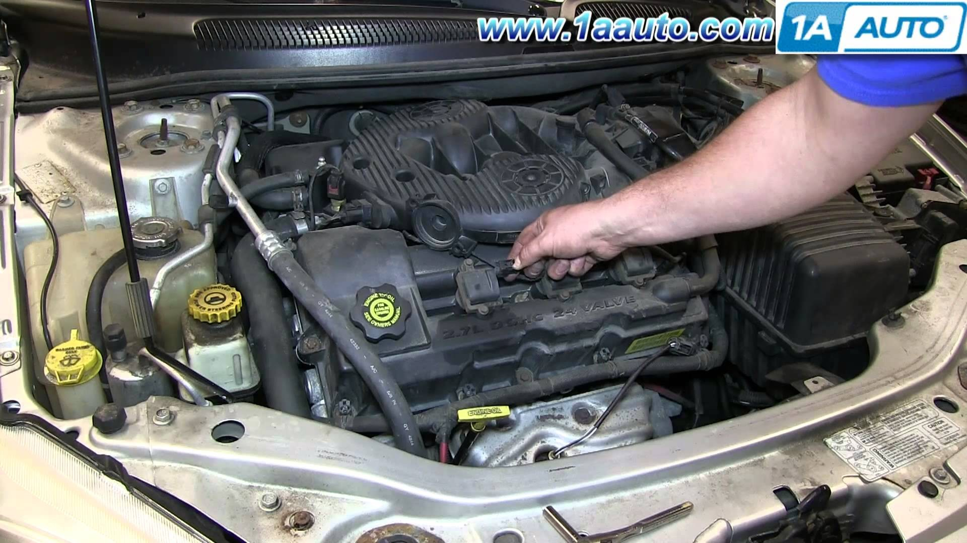 2005 Dodge Stratus Engine Diagram How to Install Replace Ignition Coil 2001 06 Chrysler Sebring 2 7l Of 2005 Dodge Stratus Engine Diagram