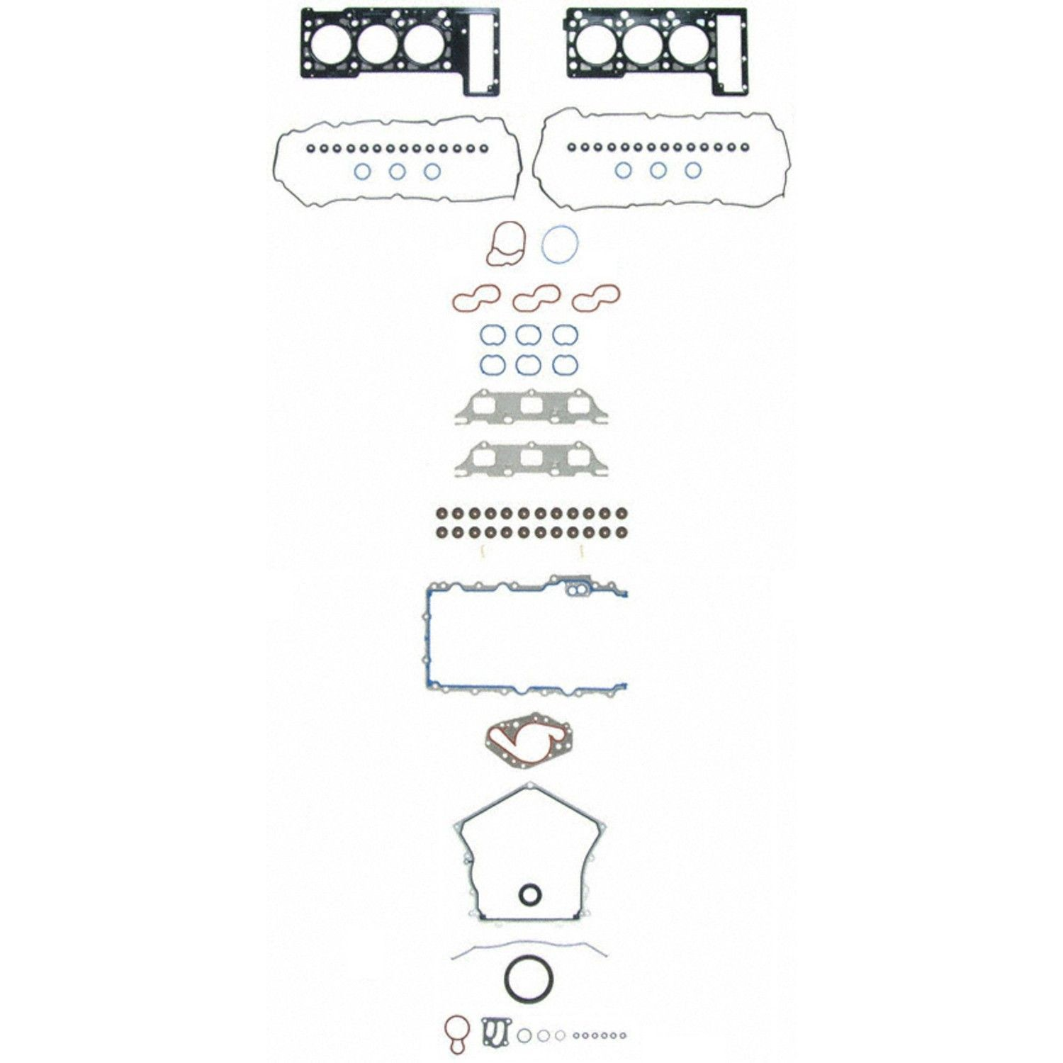 2006 Dodge Charger Engine Diagram 1934 Wiring Diagrams Gasket Set Replacement Felpro Sealed Power Of