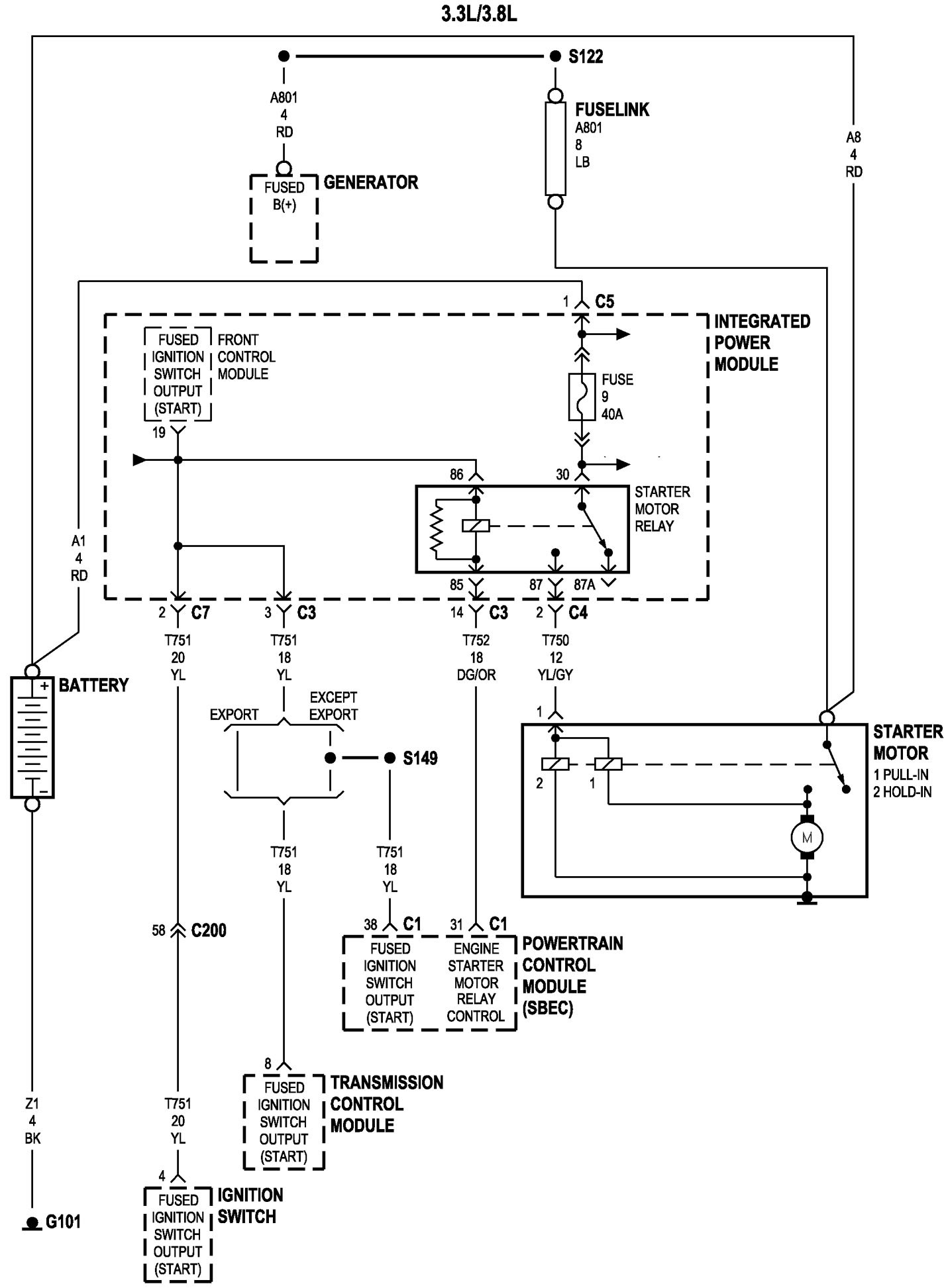 2006 caravan fuse box wiring diagram
