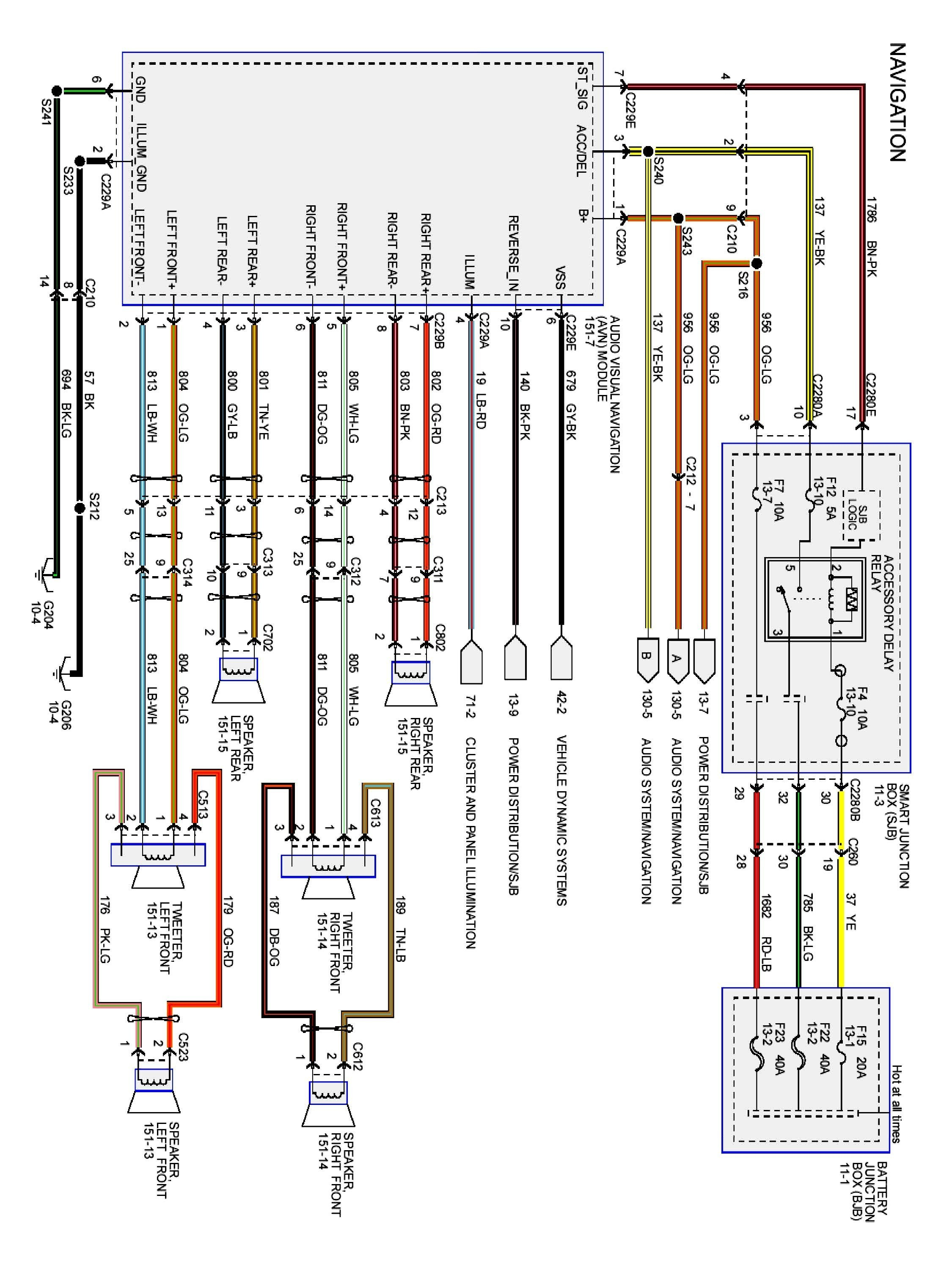 2006 Ford Fusion Engine Diagram F350 Fuse Box Head Unit Wiring Harness New Stereo Coachedby Of