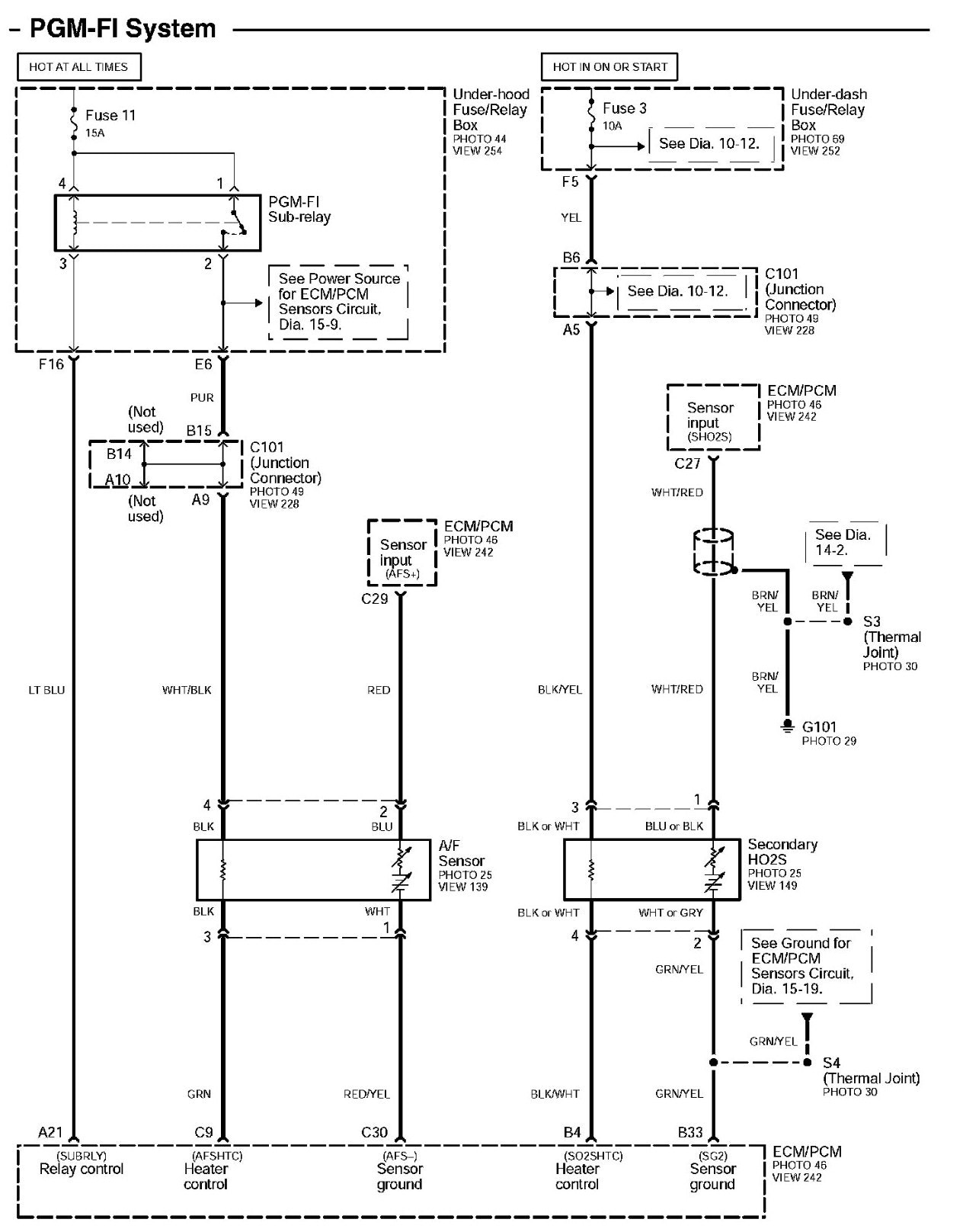 2002 Honda Odyssey Engine Diagram Wiring Library 2006 Civic Fuse Ecu With Electrical Simple Capture Of