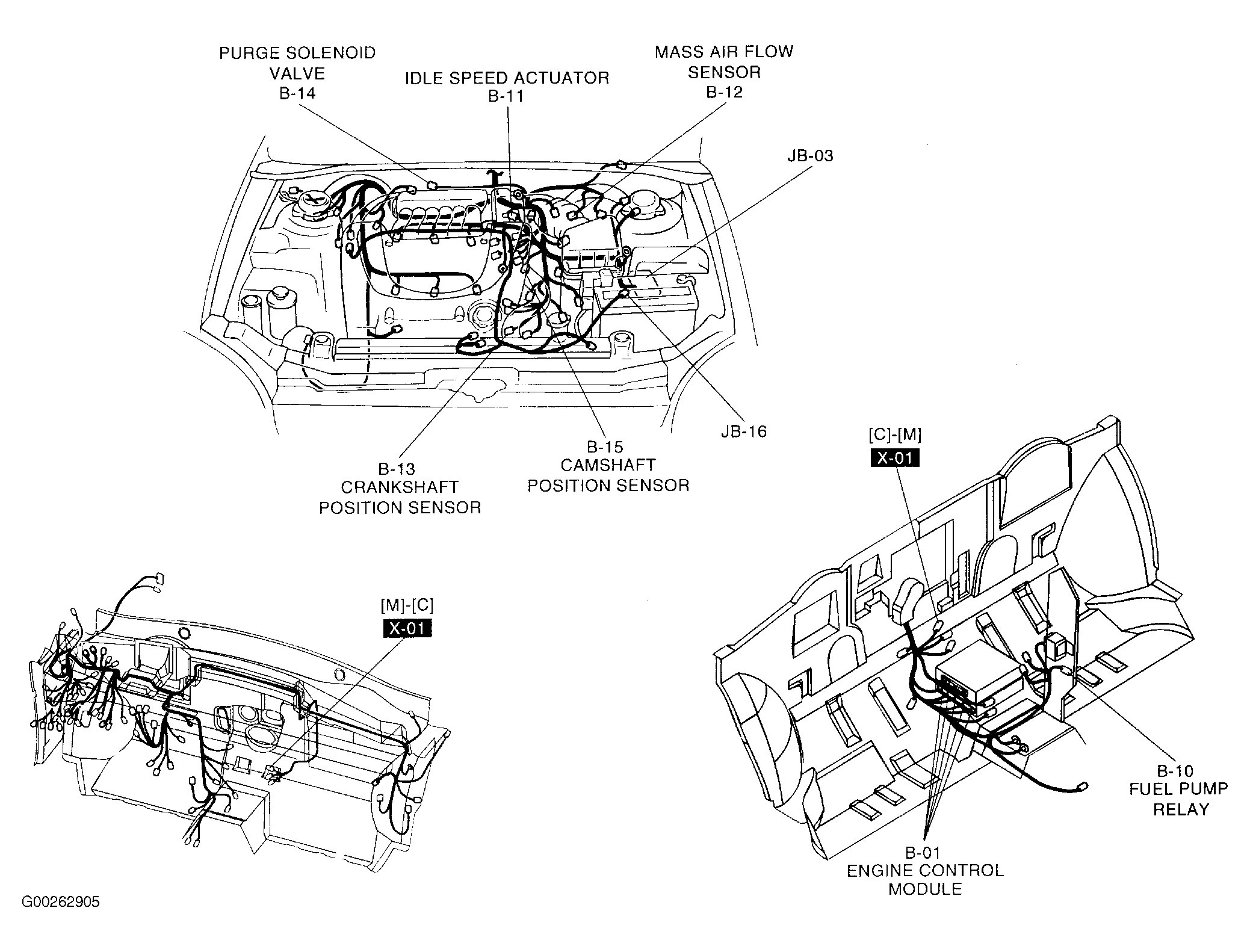 toyota scion xb parts diagrams