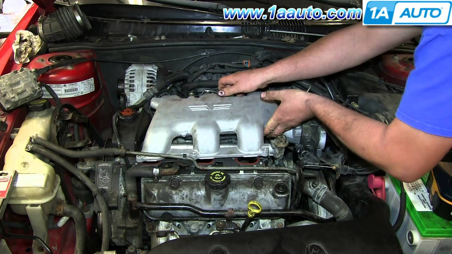 2006 Pontiac Grand Prix Engine Diagram How to Install Replace Fuel Injector Gm 3 4l V6 Pontiac Grand Am Of 2006 Pontiac Grand Prix Engine Diagram