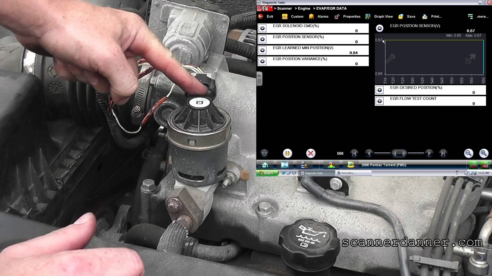 2006 Pontiac Torrent Engine Diagram How To Install Replace Dead 2005 Bonneville Stalling O2 And Egr Codes Of