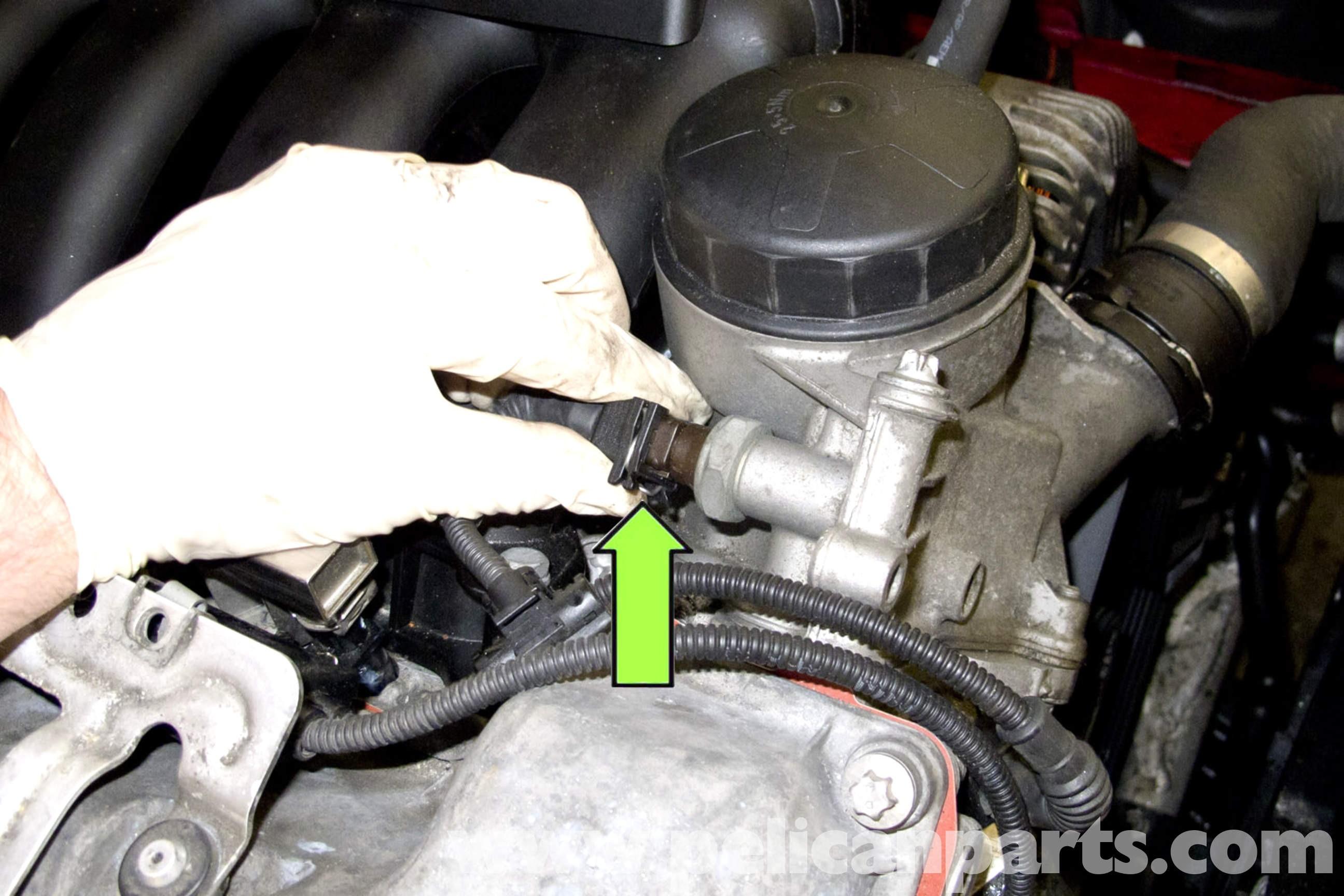 2007 Bmw 328i Engine Diagram Bmw E90 Engine Temperature Sensor Replacement