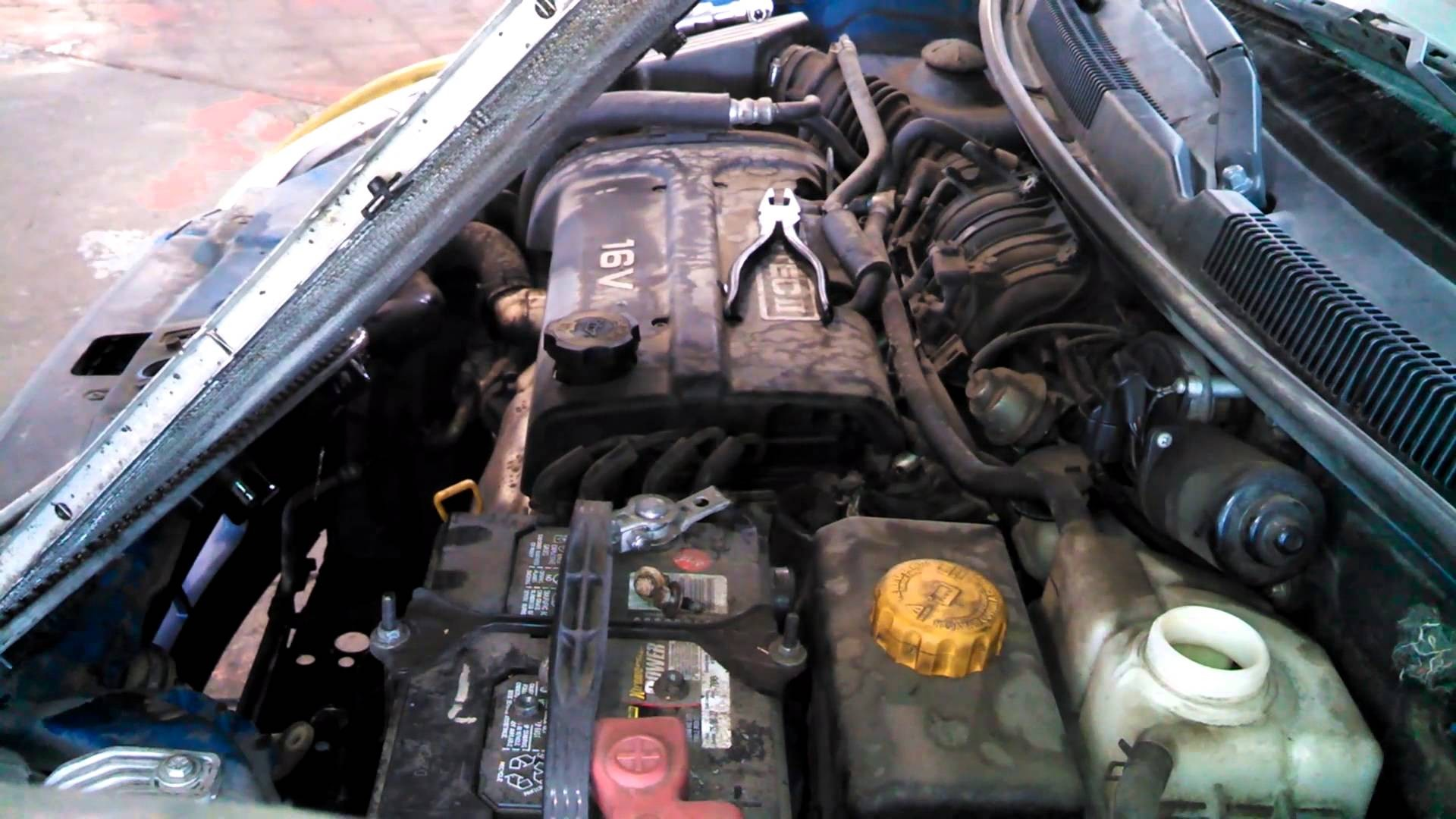 Chevy Aveo Engine Diagram Wiring Library Dcs Grill 2007 Radiator Replacement Chevrolet Install Remove Replace How Of