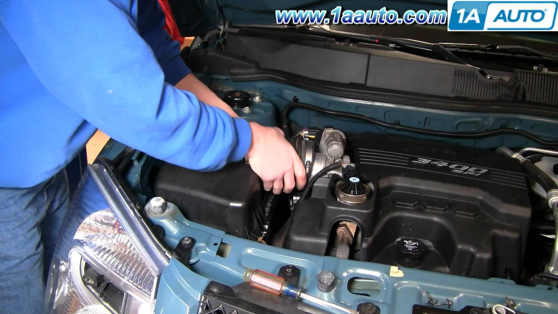 2007 Chevy Equinox Engine Diagram How to Install Replace Engine Air Filter Chevy  Equinox 3 4l 05 09